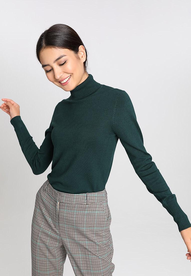Водолазка, O'stin, цвет: зеленый. Артикул: OS004EWGMZT7. Одежда / Джемперы, свитеры и кардиганы