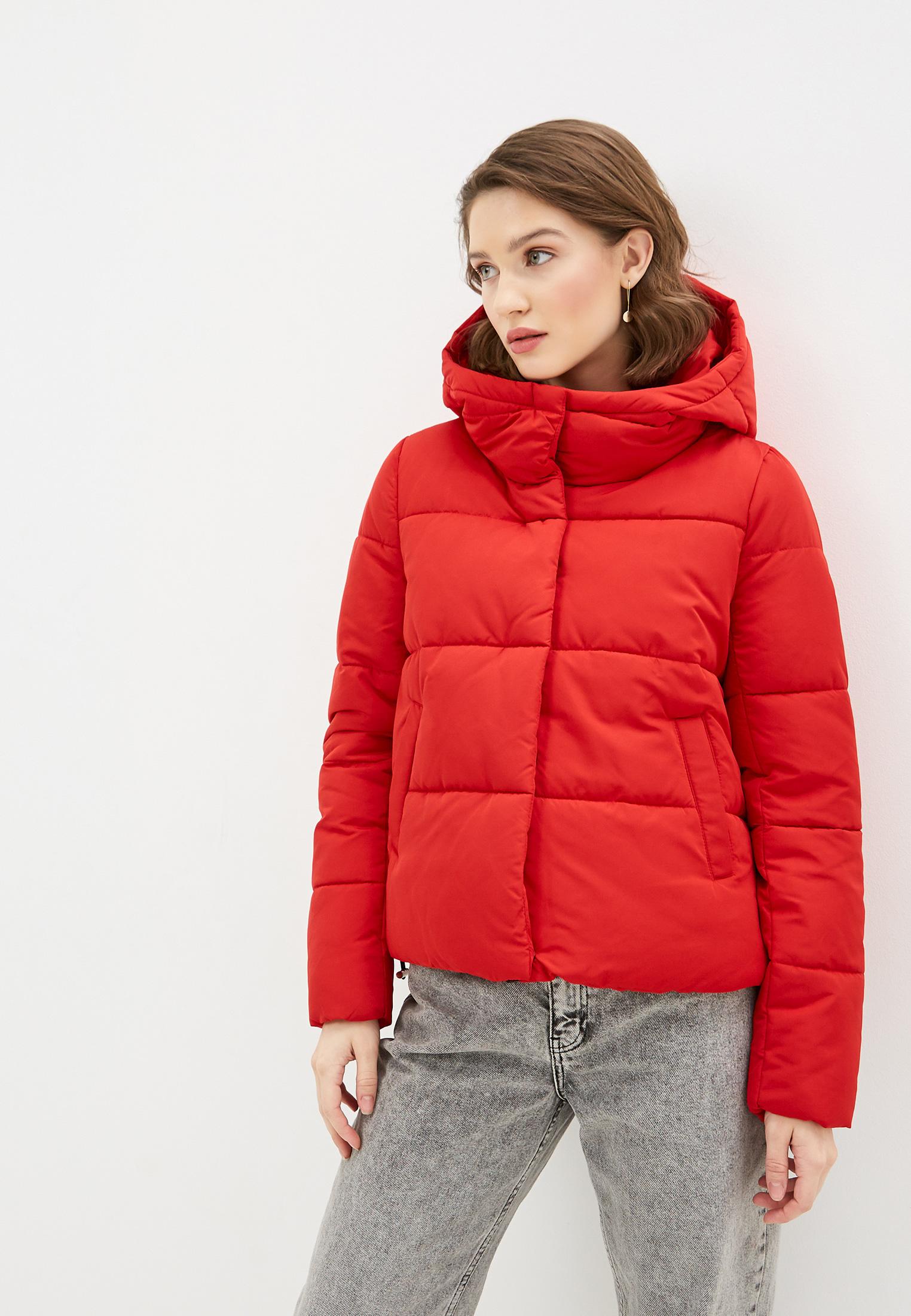 Куртка утепленная, Pimkie, цвет: красный. Артикул: PI033EWGLDK6. Одежда / Верхняя одежда