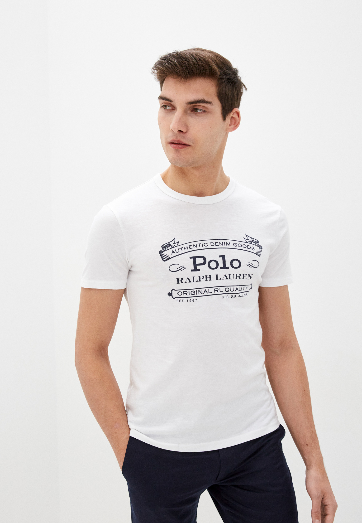 Футболка Polo Ralph Lauren за 5 670 ₽. в интернет-магазине Lamoda.ru