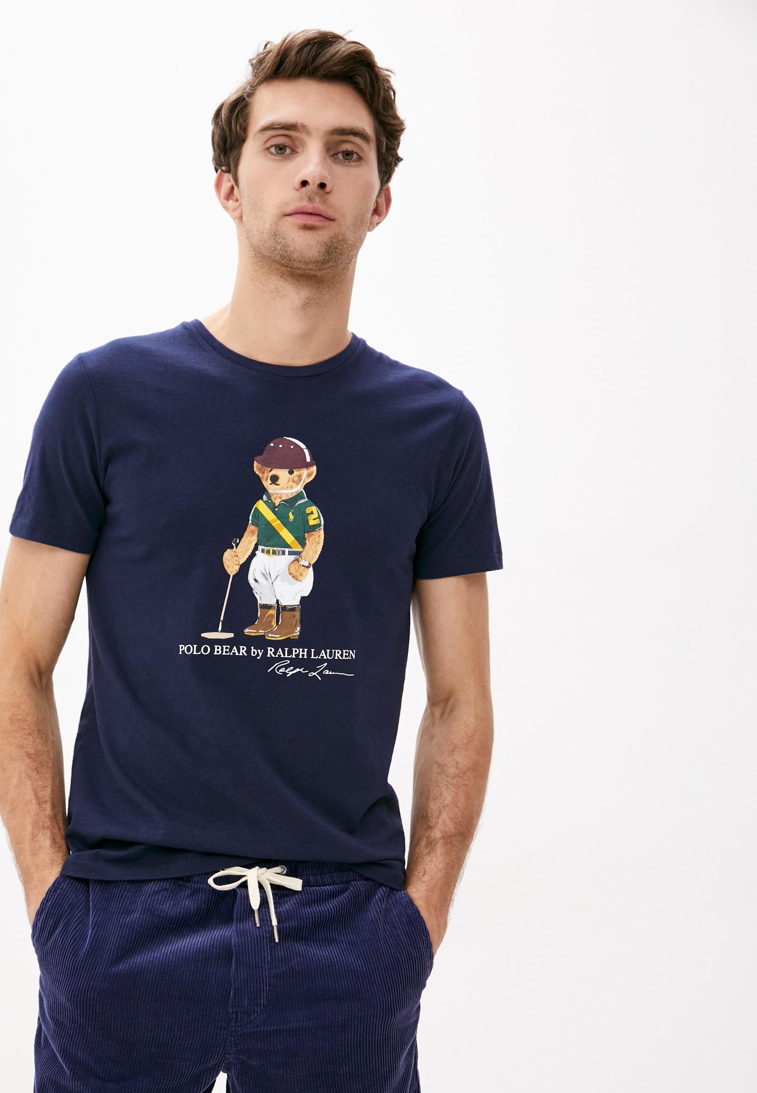 Футболка Polo Ralph Lauren за 7 565 ₽. в интернет-магазине Lamoda.ru