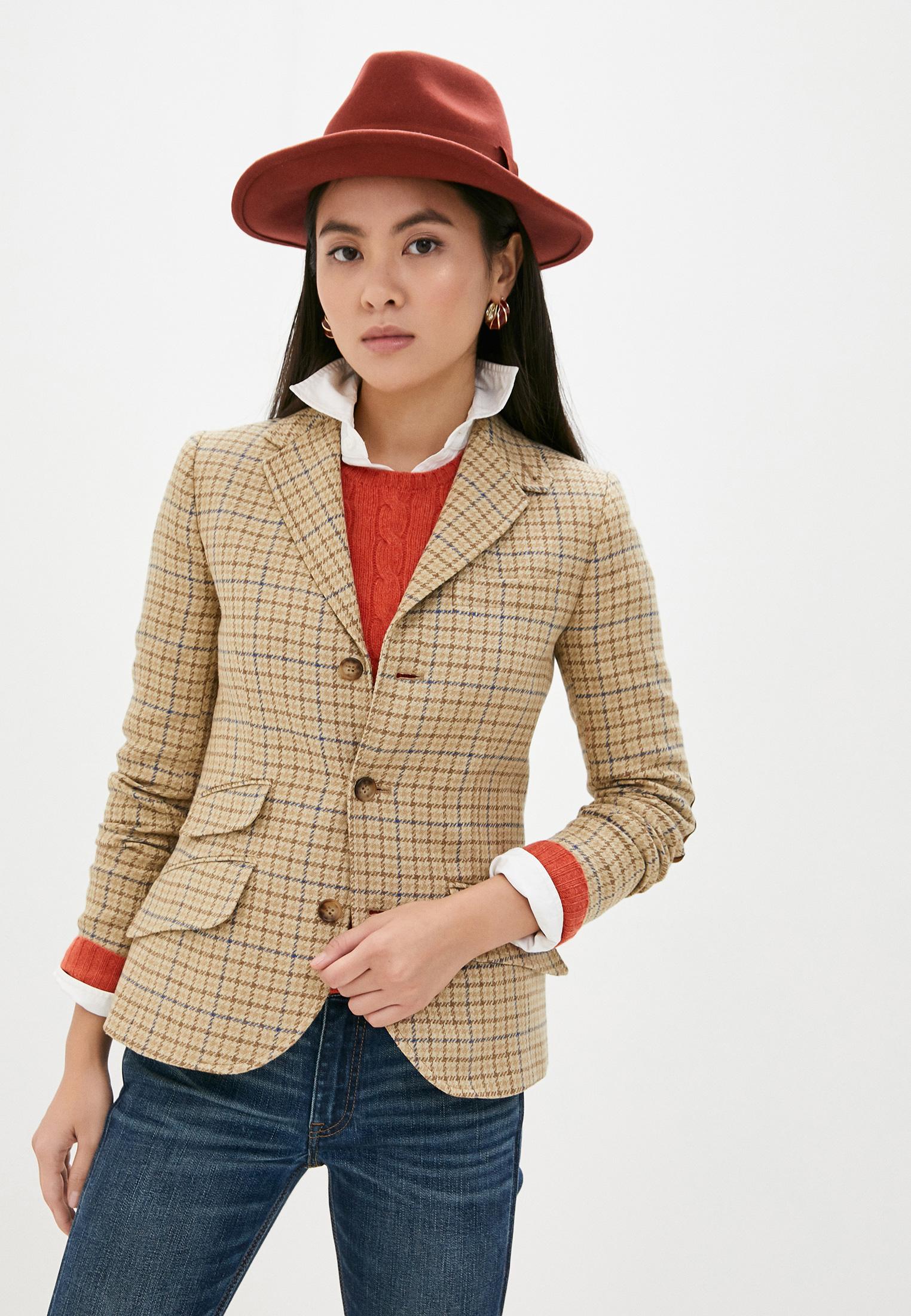 Пиджак Polo Ralph Lauren за 56 600 ₽. в интернет-магазине Lamoda.ru