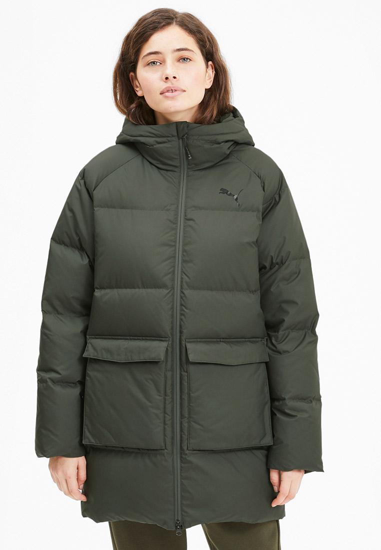 Пуховик PUMA Long Hooded Down Coat за 15 990 ₽. в интернет-магазине Lamoda.ru