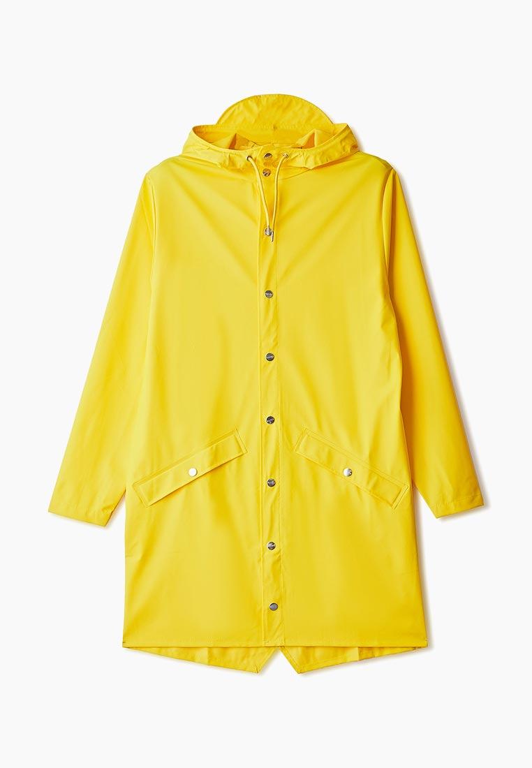 Плащ, Rains, цвет: желтый. Артикул: RA020EUFZCB1. Одежда