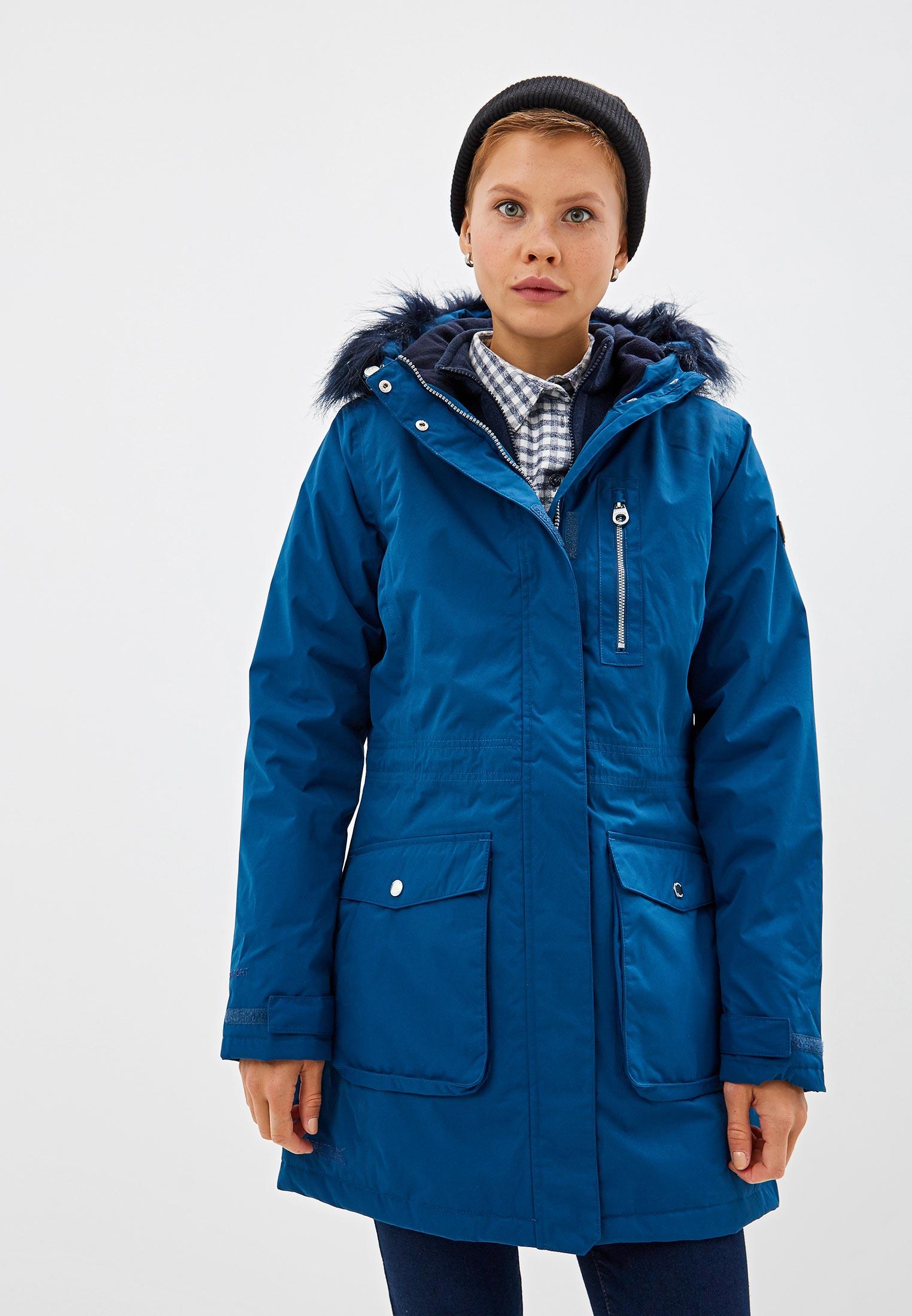 Парка, Regatta, цвет: синий. Артикул: RE036EWFQUA6. Одежда / Верхняя одежда / Парки