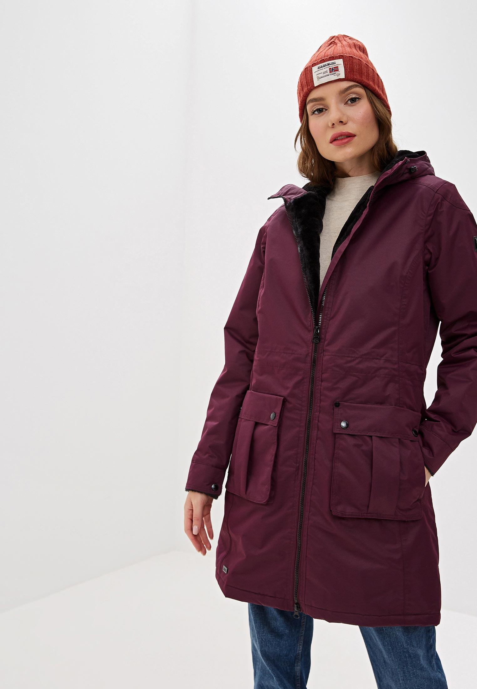 Парка, Regatta, цвет: фиолетовый. Артикул: RE036EWFQUA9. Одежда / Верхняя одежда / Парки