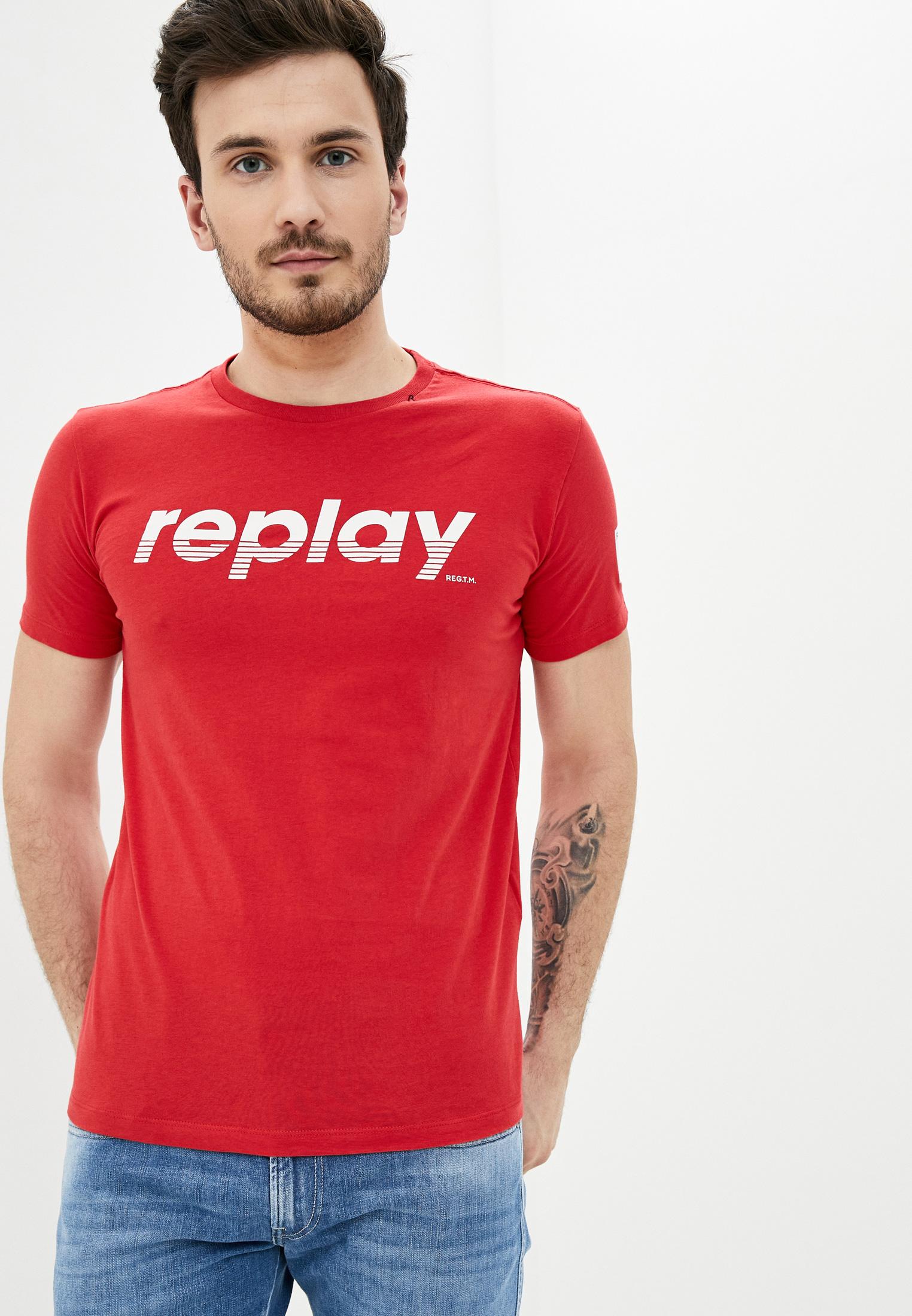 Футболка Replay купить за 1 340 ₽ в интернет-магазине Lamoda.ru