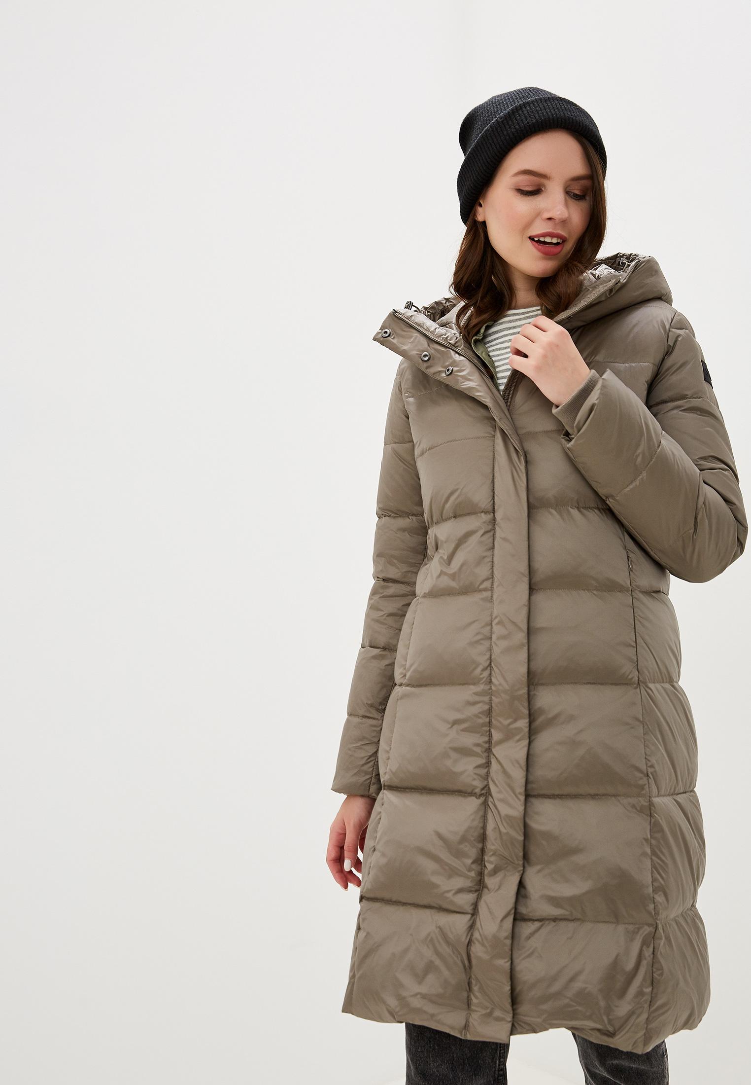 Пуховик, Savage, цвет: коричневый. Артикул: SA004EWGERZ3. Одежда / Верхняя одежда / Пуховики и зимние куртки