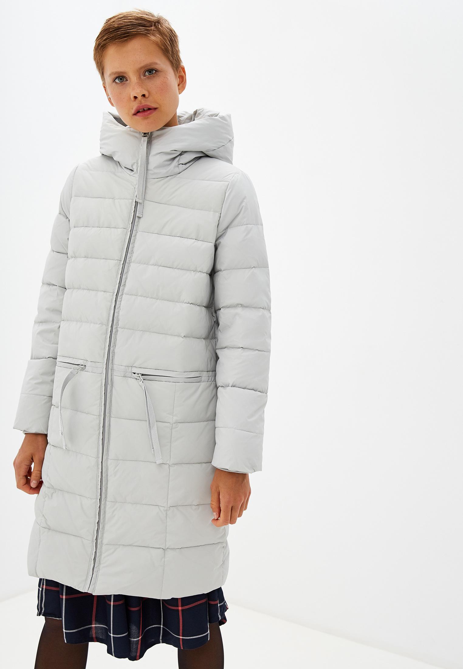 Пуховик, Savage, цвет: серый. Артикул: SA004EWGERZ4. Одежда / Верхняя одежда / Пуховики и зимние куртки