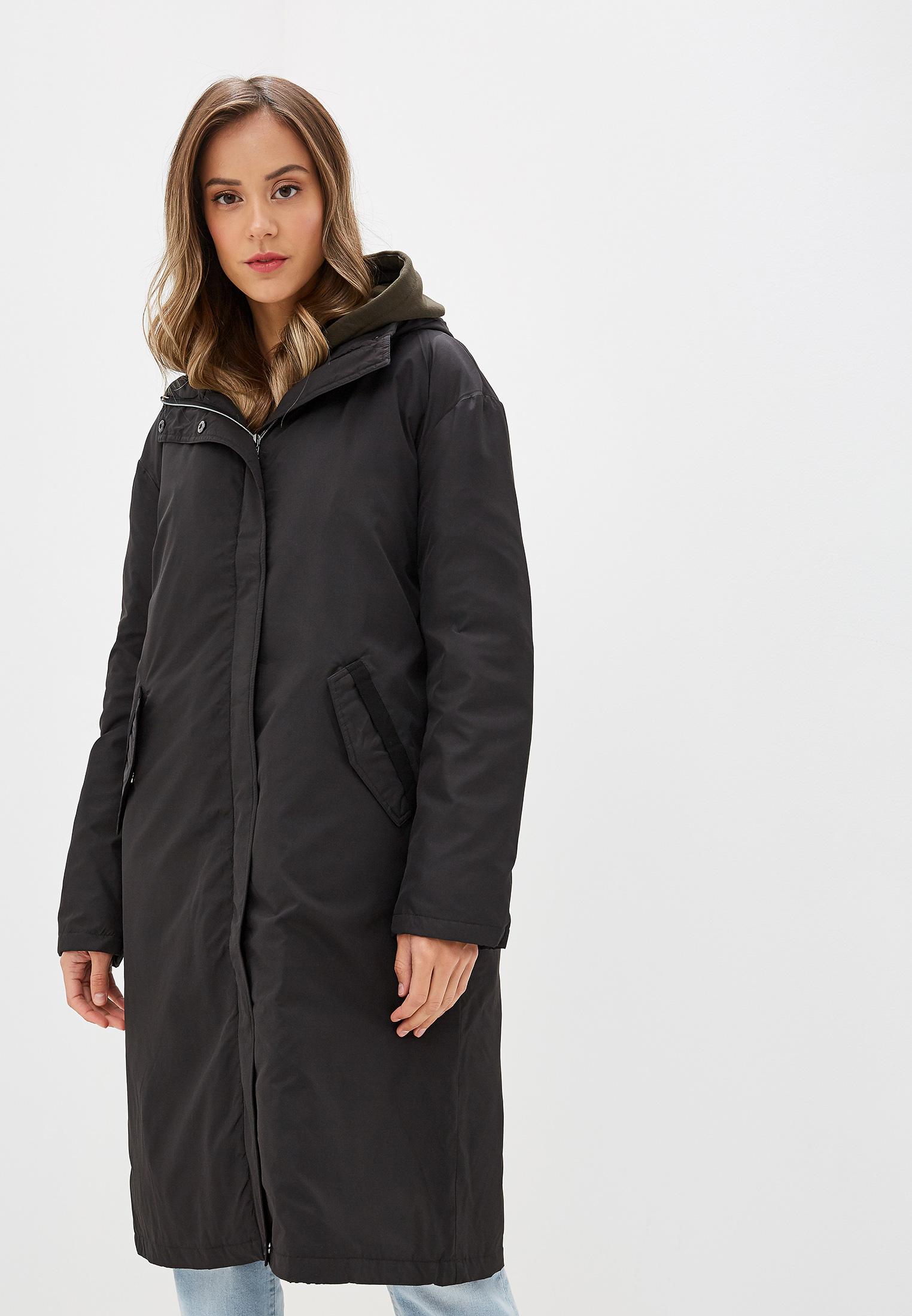 Пуховик, Savage, цвет: черный. Артикул: SA004EWGESA0. Одежда / Верхняя одежда / Пуховики и зимние куртки