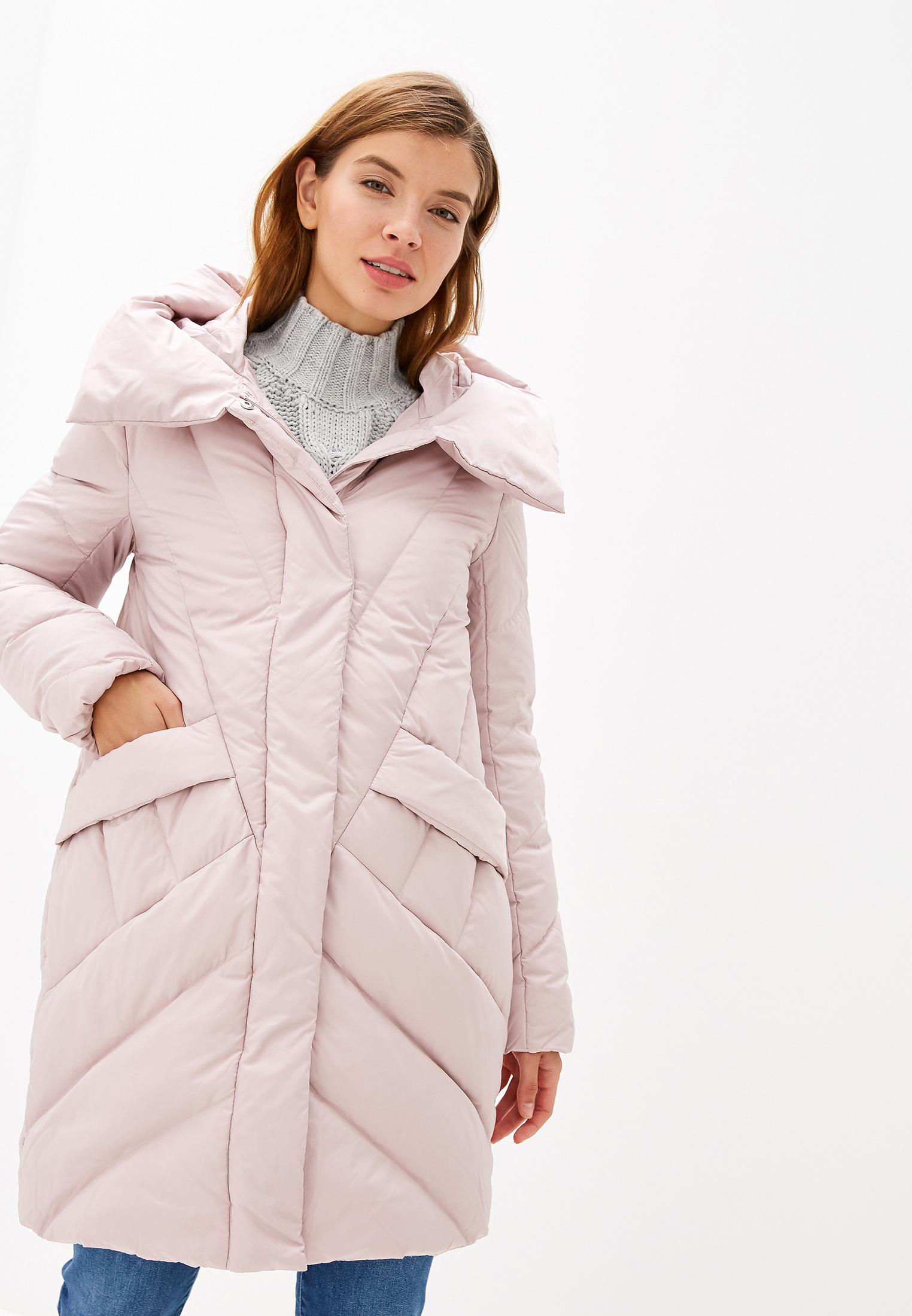 Пуховик, Savage, цвет: розовый. Артикул: SA004EWGESA4. Одежда / Верхняя одежда / Пуховики и зимние куртки