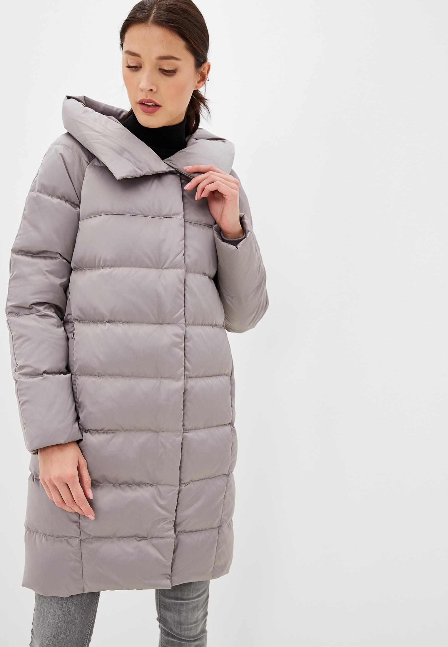 Пуховик, Savage, цвет: серый. Артикул: SA004EWGESA7. Одежда / Верхняя одежда / Пуховики и зимние куртки