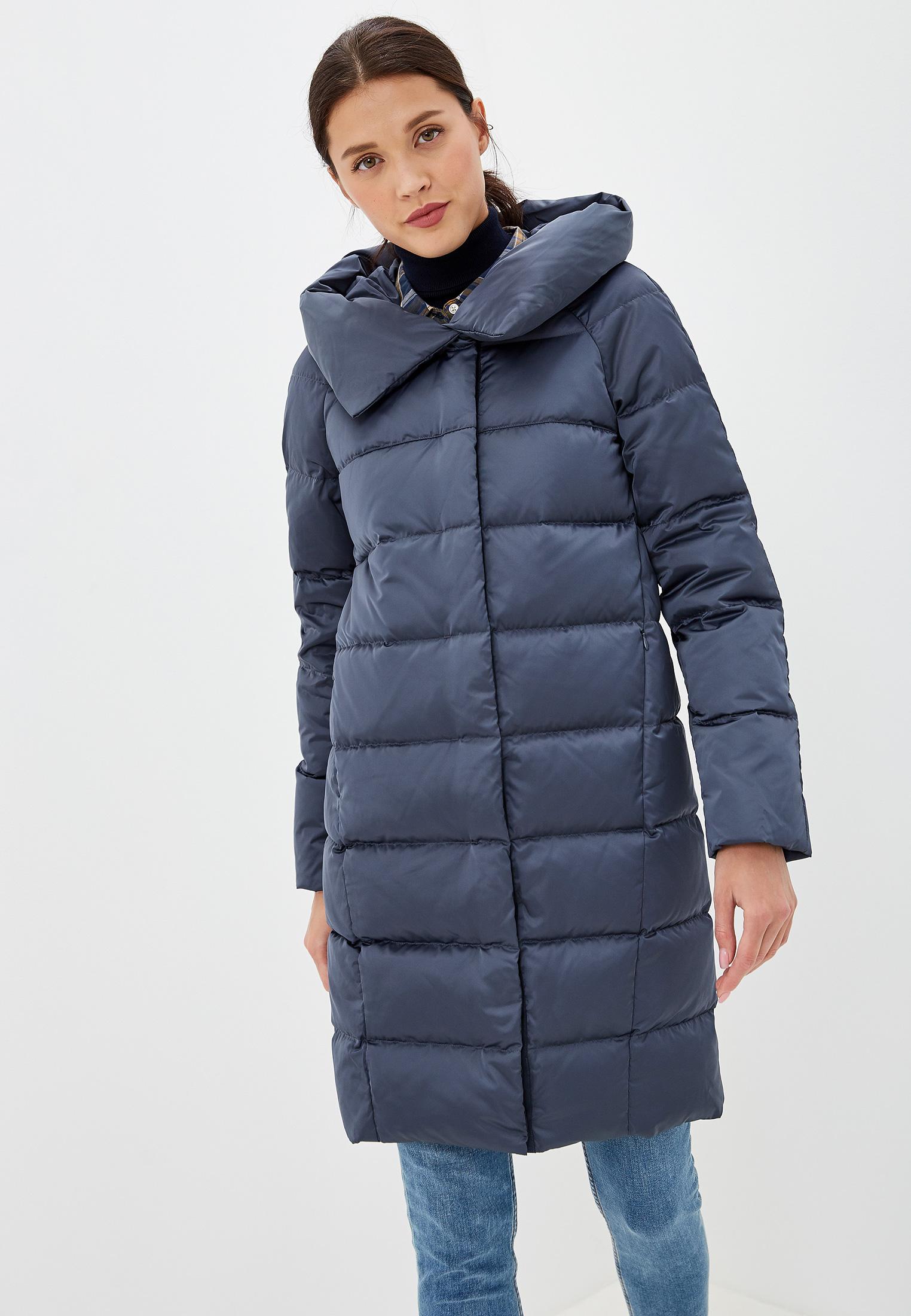 Пуховик, Savage, цвет: синий. Артикул: SA004EWGESA8. Одежда / Верхняя одежда / Пуховики и зимние куртки