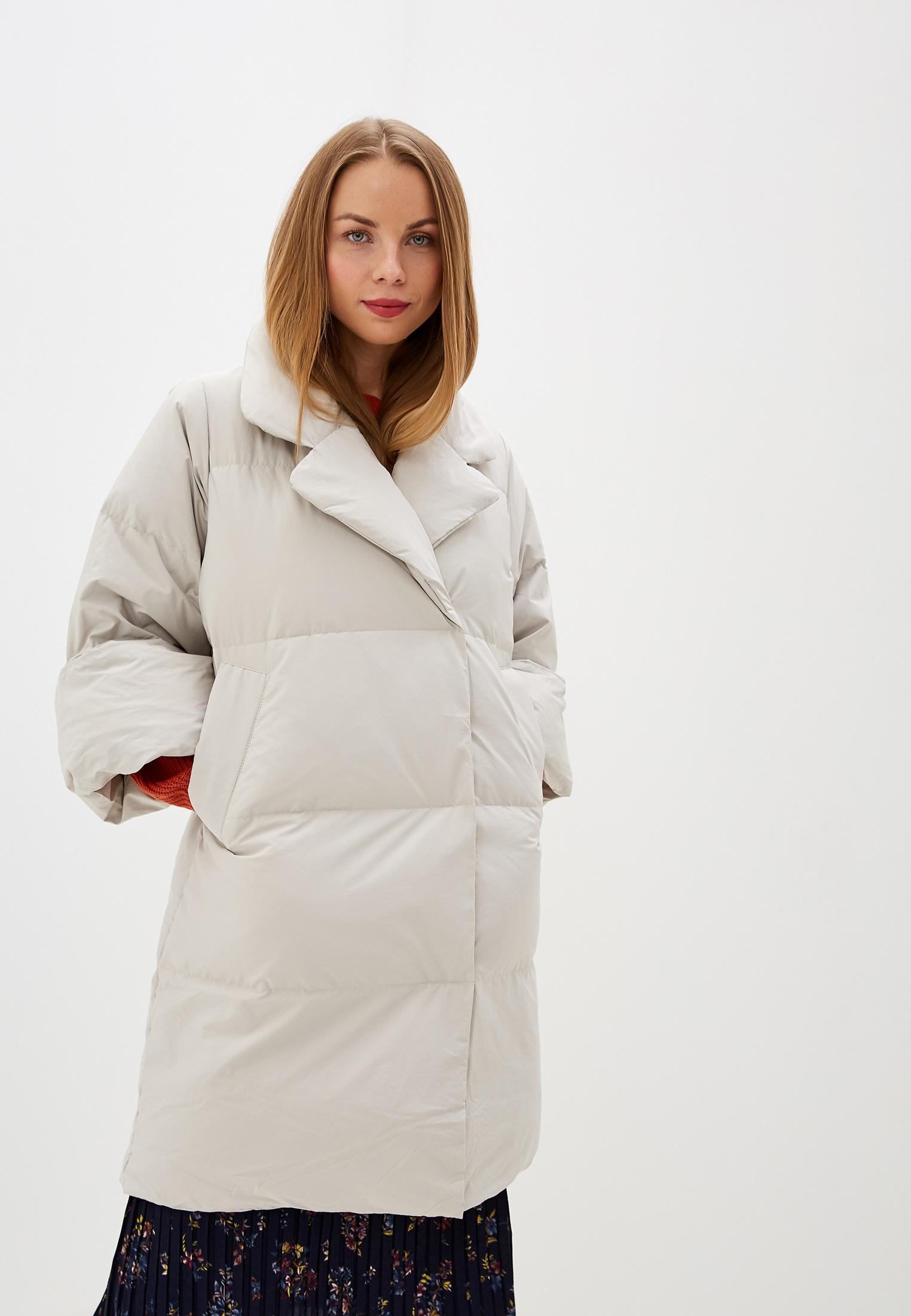 Пуховик, Savage, цвет: серый. Артикул: SA004EWGESA9. Одежда / Верхняя одежда / Пуховики и зимние куртки