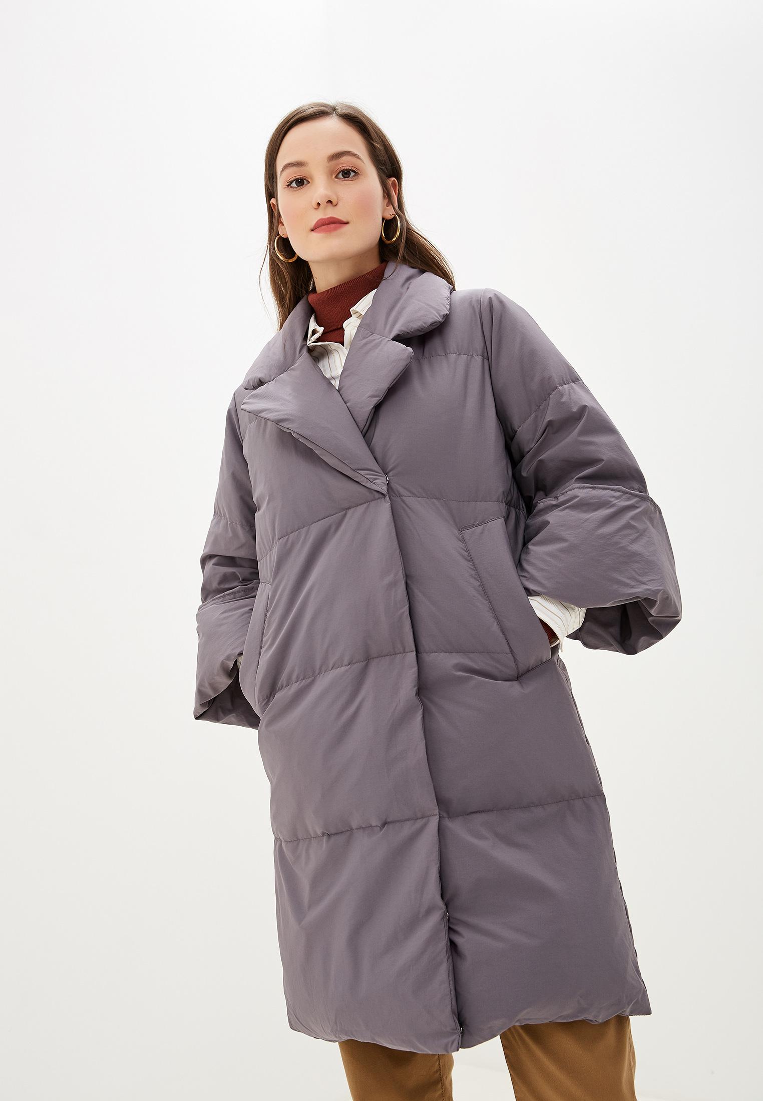 Пуховик, Savage, цвет: серый. Артикул: SA004EWGESB0. Одежда / Верхняя одежда / Пуховики и зимние куртки