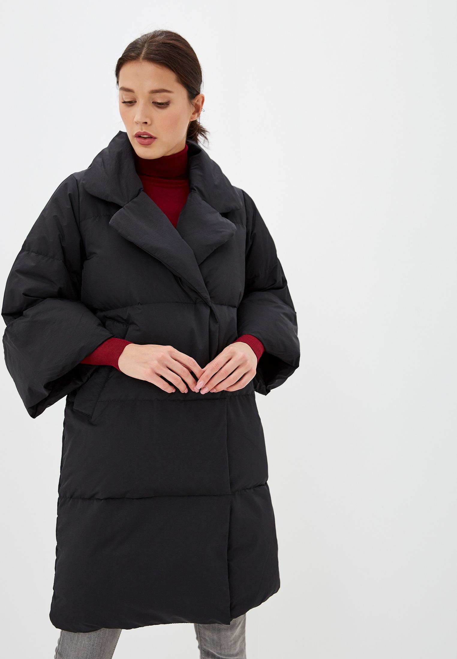 Пуховик, Savage, цвет: черный. Артикул: SA004EWGESB1. Одежда / Верхняя одежда / Пуховики и зимние куртки