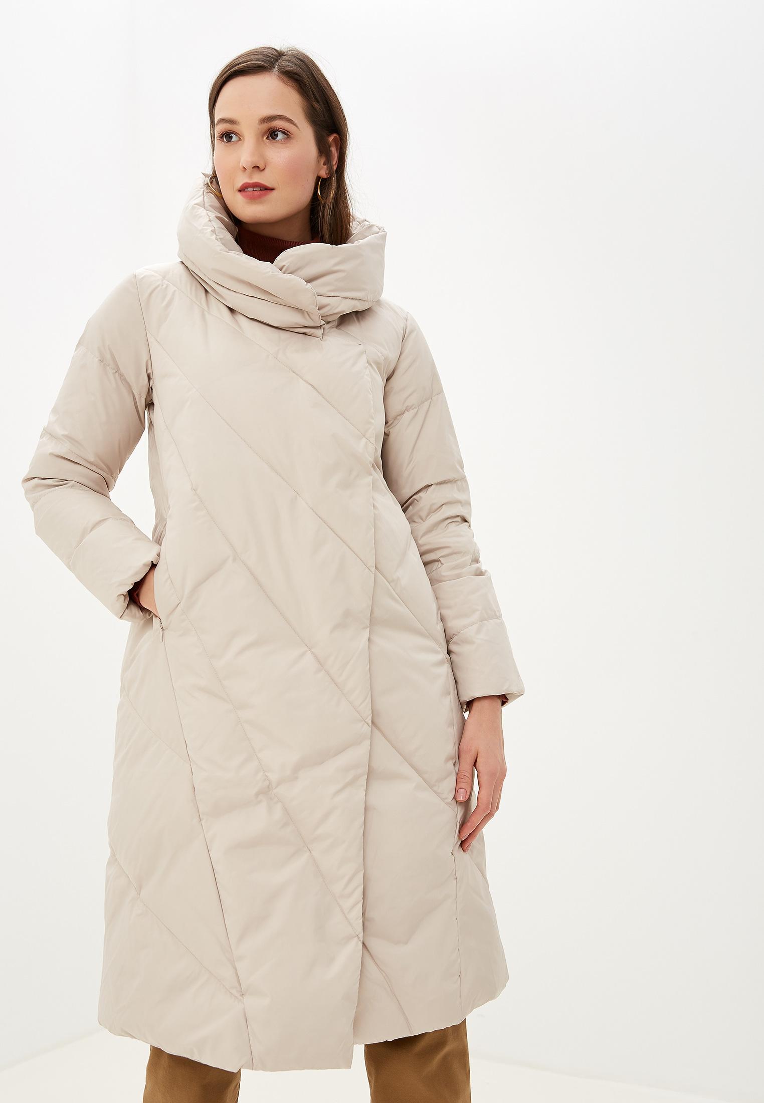Пуховик, Savage, цвет: серый. Артикул: SA004EWGESB2. Одежда / Верхняя одежда / Пуховики и зимние куртки