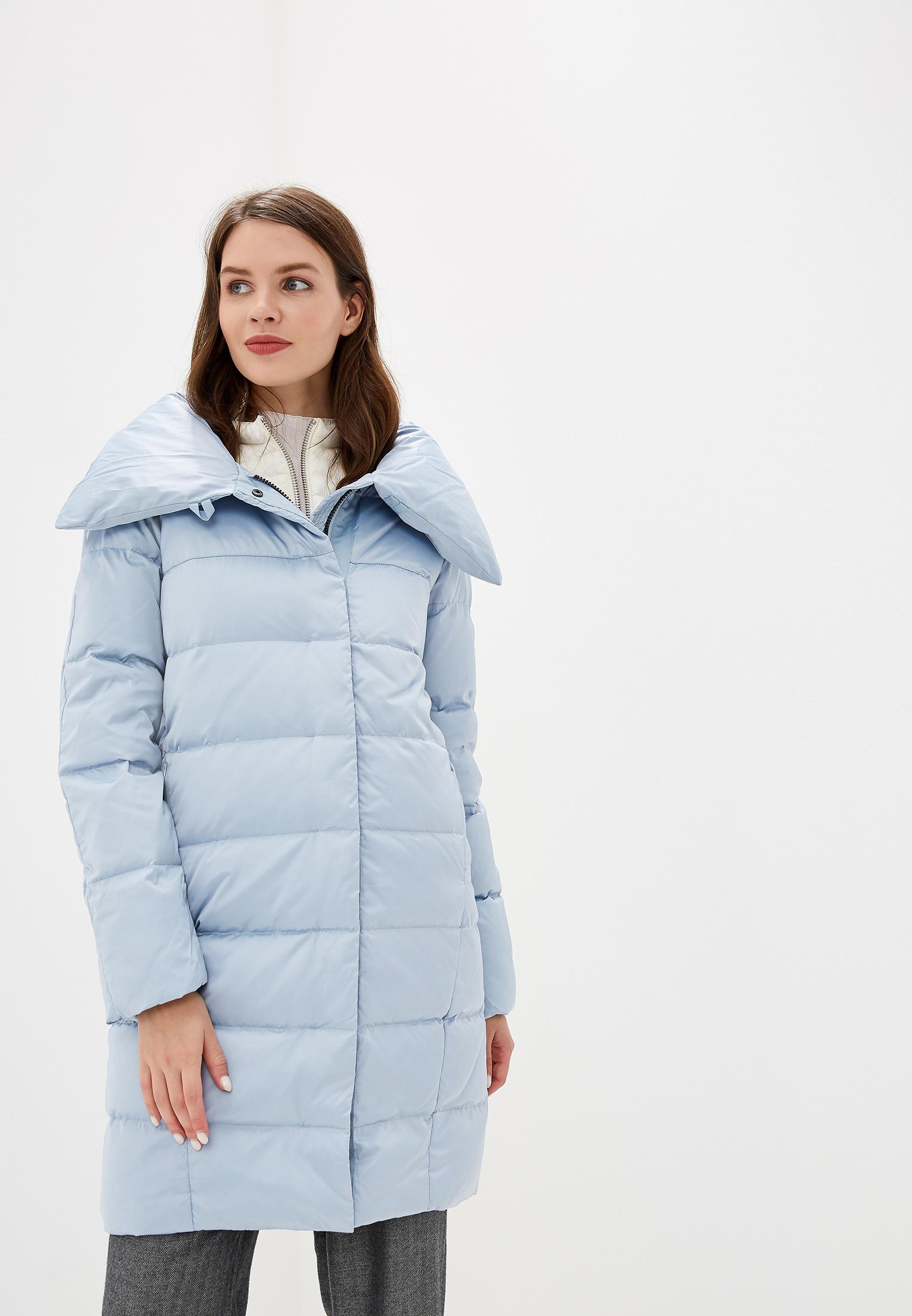 Пуховик, Savage, цвет: голубой. Артикул: SA004EWGESB7. Одежда / Верхняя одежда / Пуховики и зимние куртки