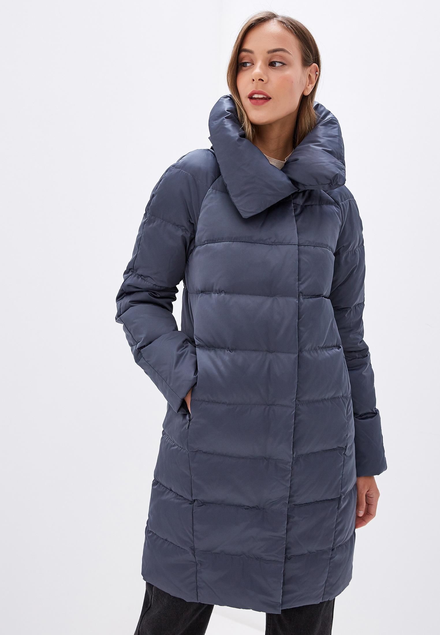 Пуховик, Savage, цвет: синий. Артикул: SA004EWGESB8. Одежда / Верхняя одежда / Пуховики и зимние куртки