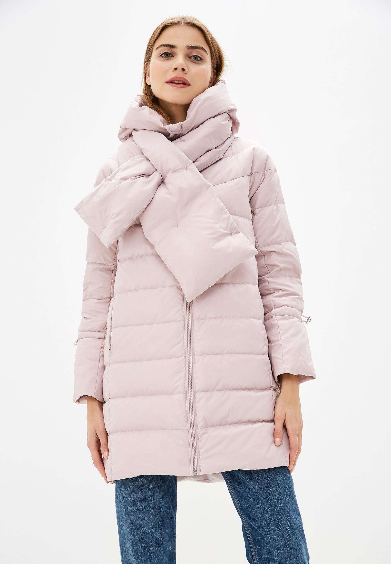 Пуховик, Savage, цвет: розовый. Артикул: SA004EWGESB9. Одежда / Верхняя одежда / Пуховики и зимние куртки