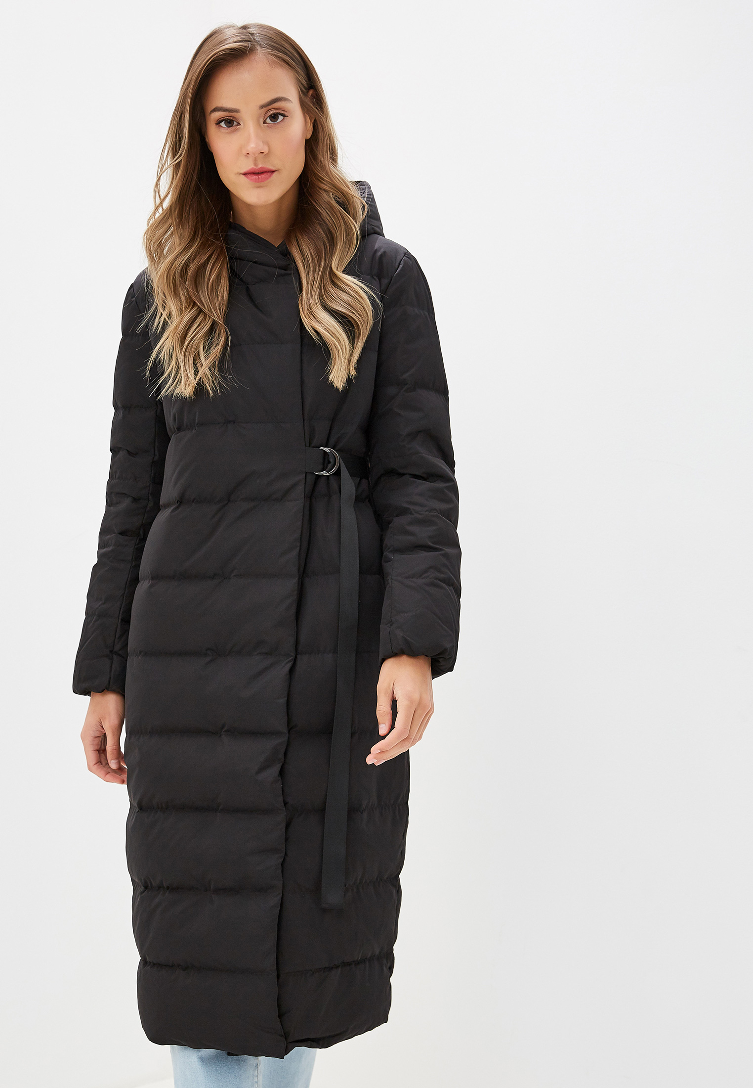 Пуховик, Savage, цвет: черный. Артикул: SA004EWGESC2. Одежда / Верхняя одежда / Пуховики и зимние куртки