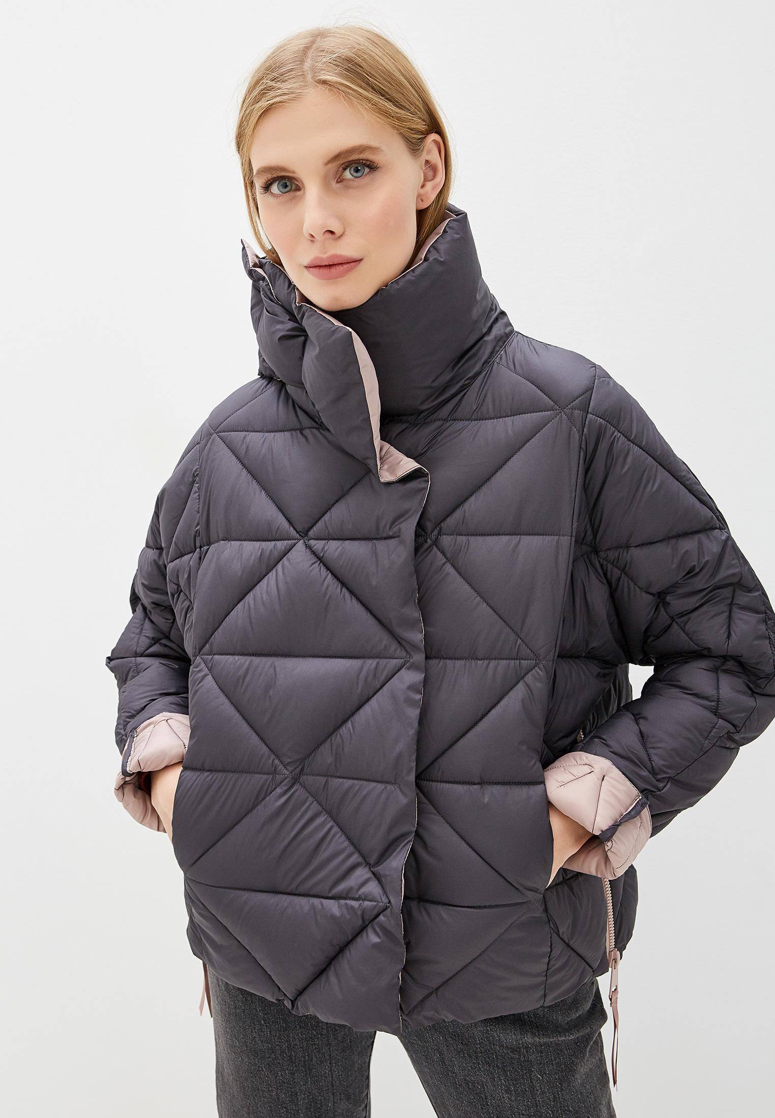 Куртка утепленная, Savage, цвет: серый. Артикул: SA004EWGESD4. Одежда / Верхняя одежда / Пуховики и зимние куртки