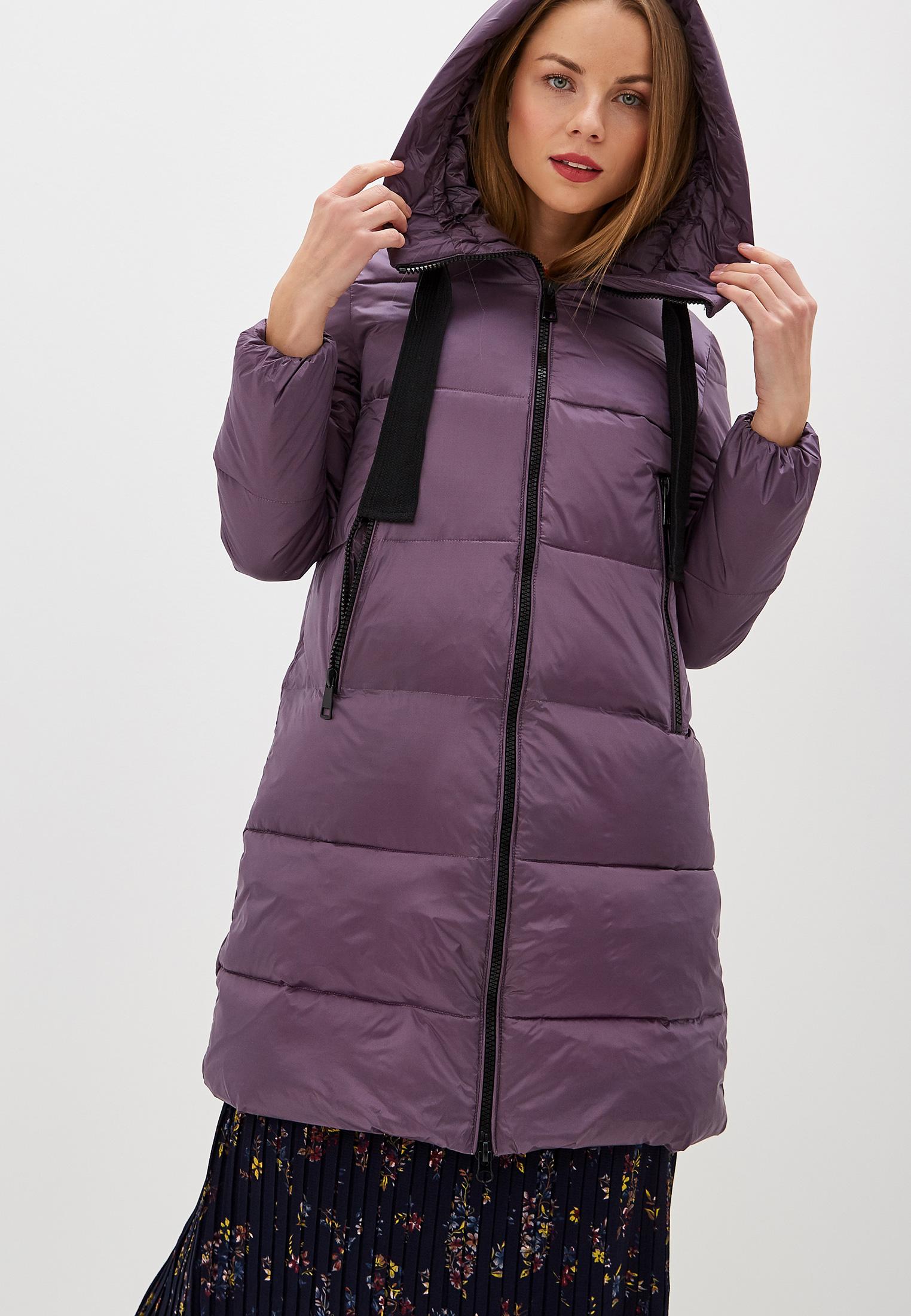Куртка утепленная, Savage, цвет: фиолетовый. Артикул: SA004EWGESD5. Одежда / Верхняя одежда / Пуховики и зимние куртки
