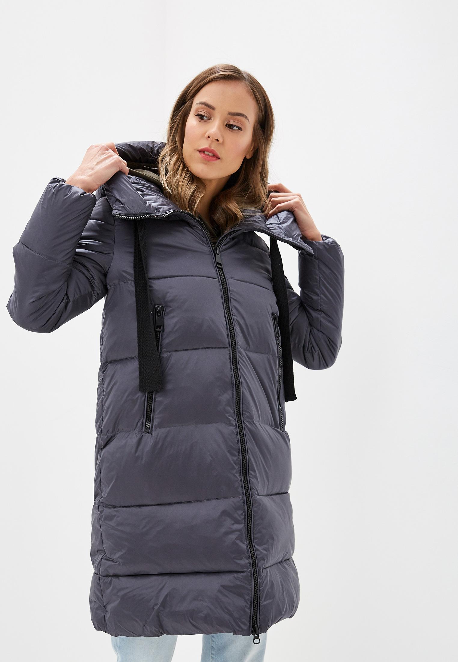 Куртка утепленная, Savage, цвет: серый. Артикул: SA004EWGESD6. Одежда / Верхняя одежда / Пуховики и зимние куртки