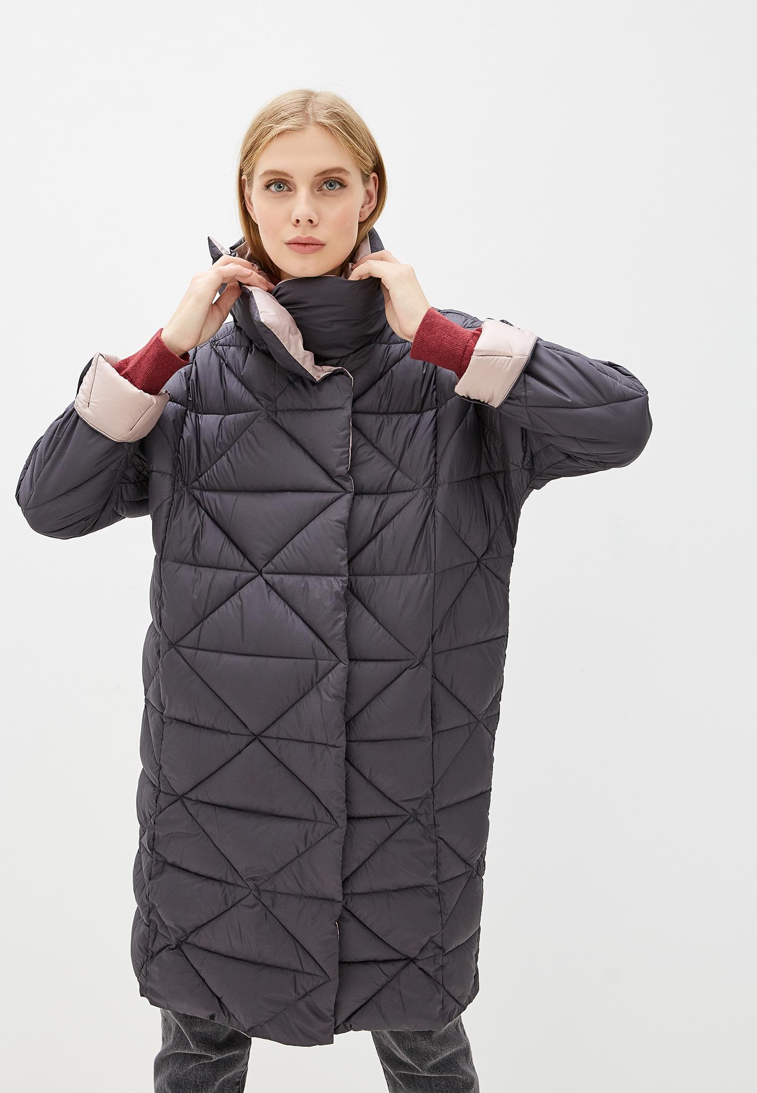 Куртка утепленная, Savage, цвет: серый. Артикул: SA004EWGESD7. Одежда / Верхняя одежда / Пуховики и зимние куртки