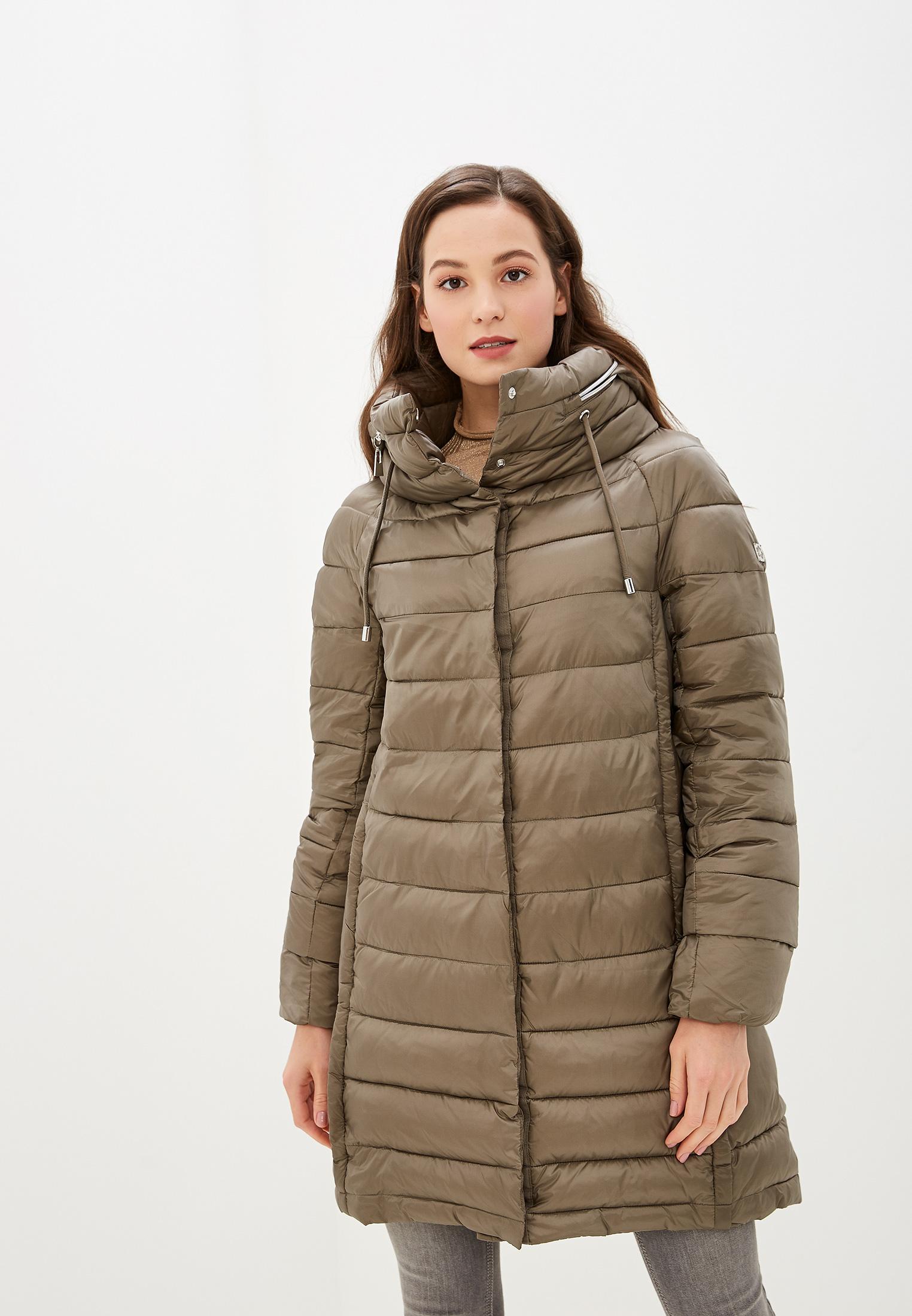 Куртка утепленная, Savage, цвет: хаки. Артикул: SA004EWGESE2. Одежда / Верхняя одежда / Пуховики и зимние куртки