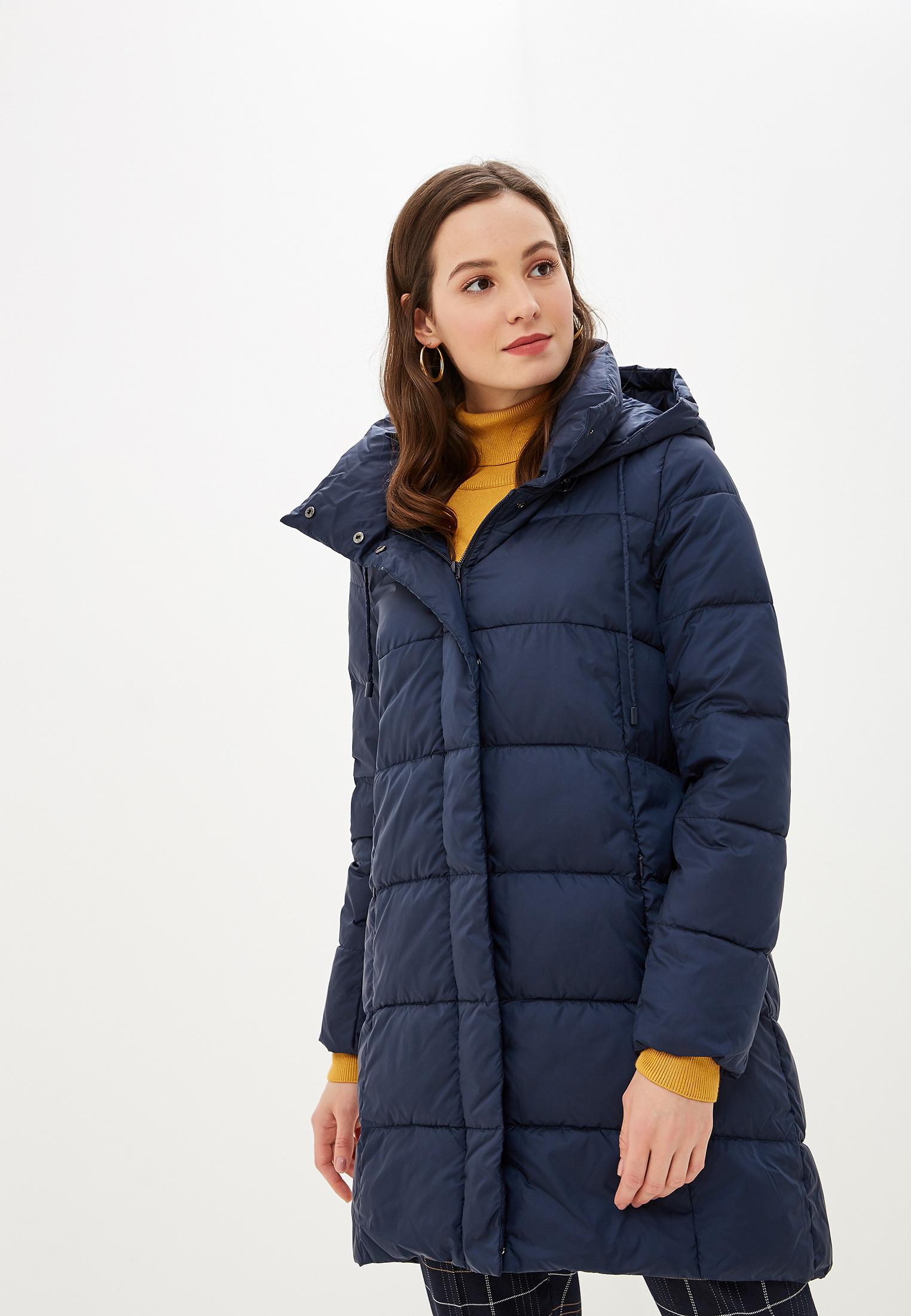 Куртка утепленная, Savage, цвет: синий. Артикул: SA004EWGESE5. Одежда / Верхняя одежда / Пуховики и зимние куртки