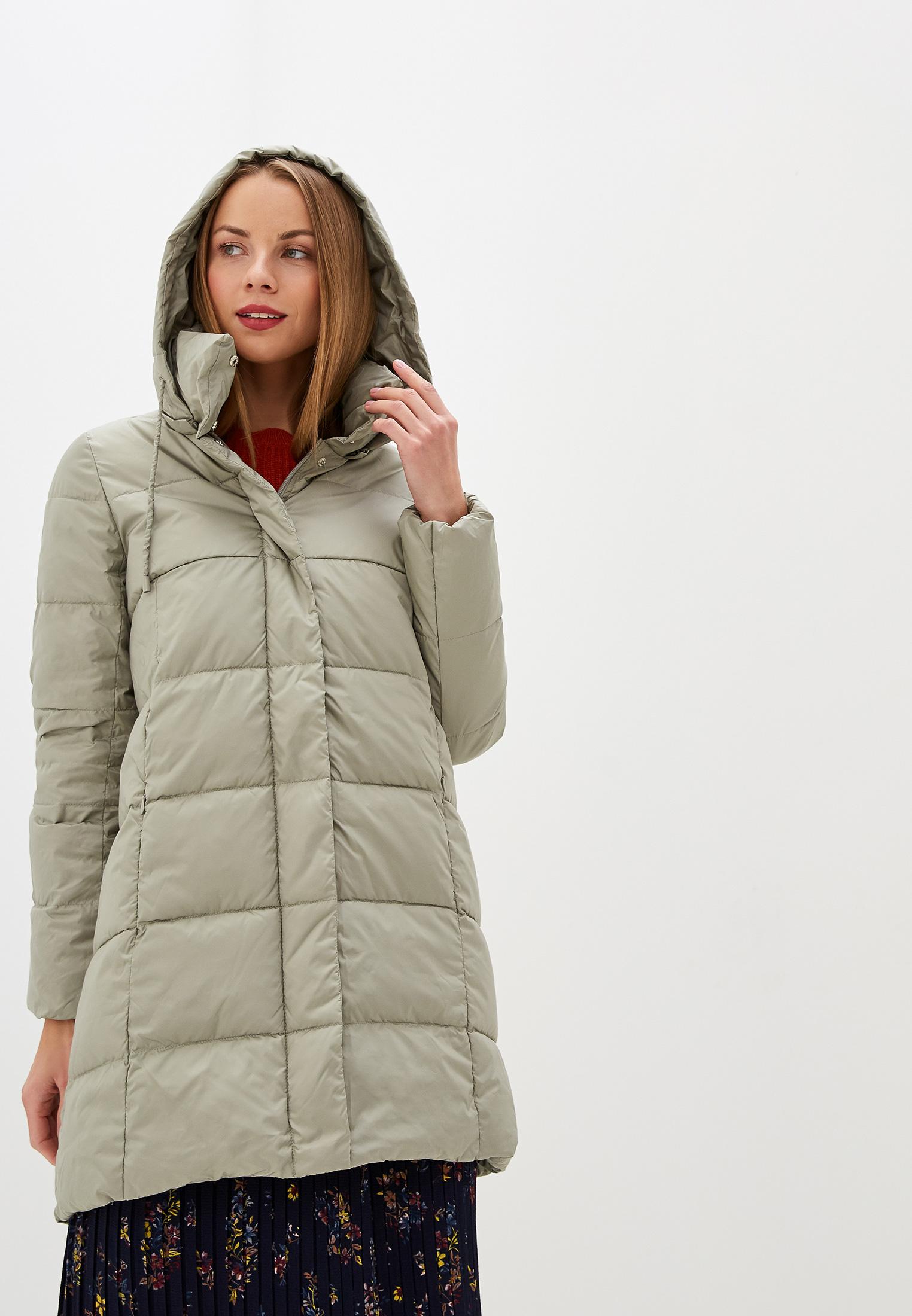 Куртка утепленная, Savage, цвет: зеленый. Артикул: SA004EWGESE6. Одежда / Верхняя одежда / Пуховики и зимние куртки