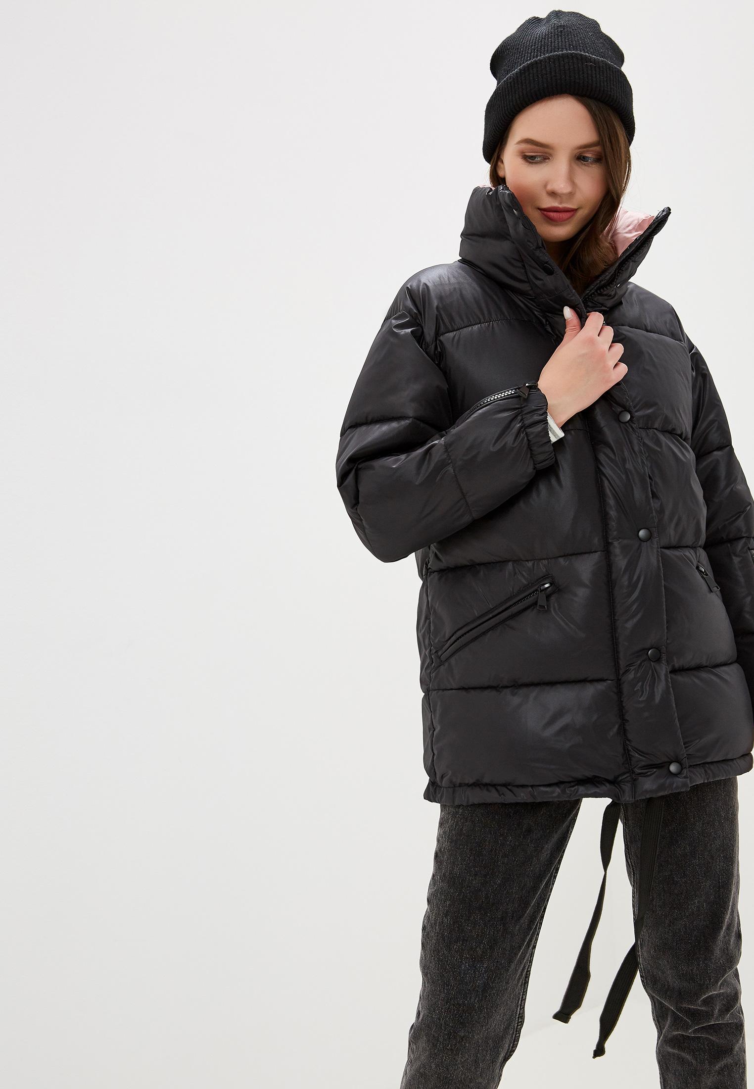 Куртка утепленная, Savage, цвет: черный. Артикул: SA004EWGESE9. Одежда / Верхняя одежда / Пуховики и зимние куртки