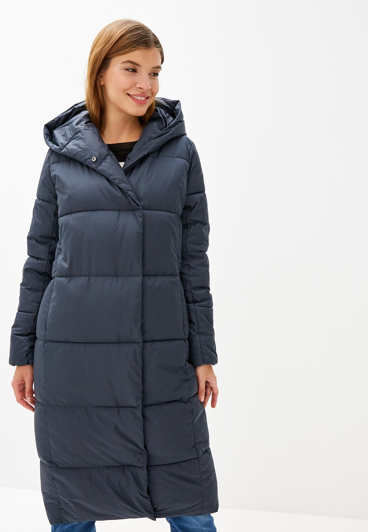 Куртка утепленная, Savage, цвет: синий. Артикул: SA004EWGESF3. Одежда / Верхняя одежда / Пуховики и зимние куртки