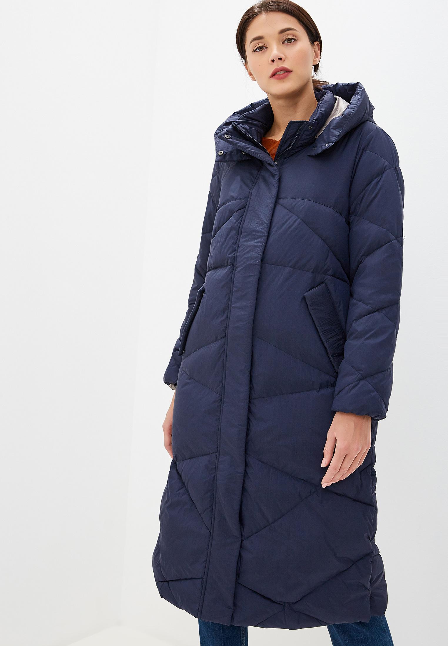 Пуховик, Savage, цвет: синий. Артикул: SA004EWGFUP9. Одежда / Верхняя одежда / Пуховики и зимние куртки