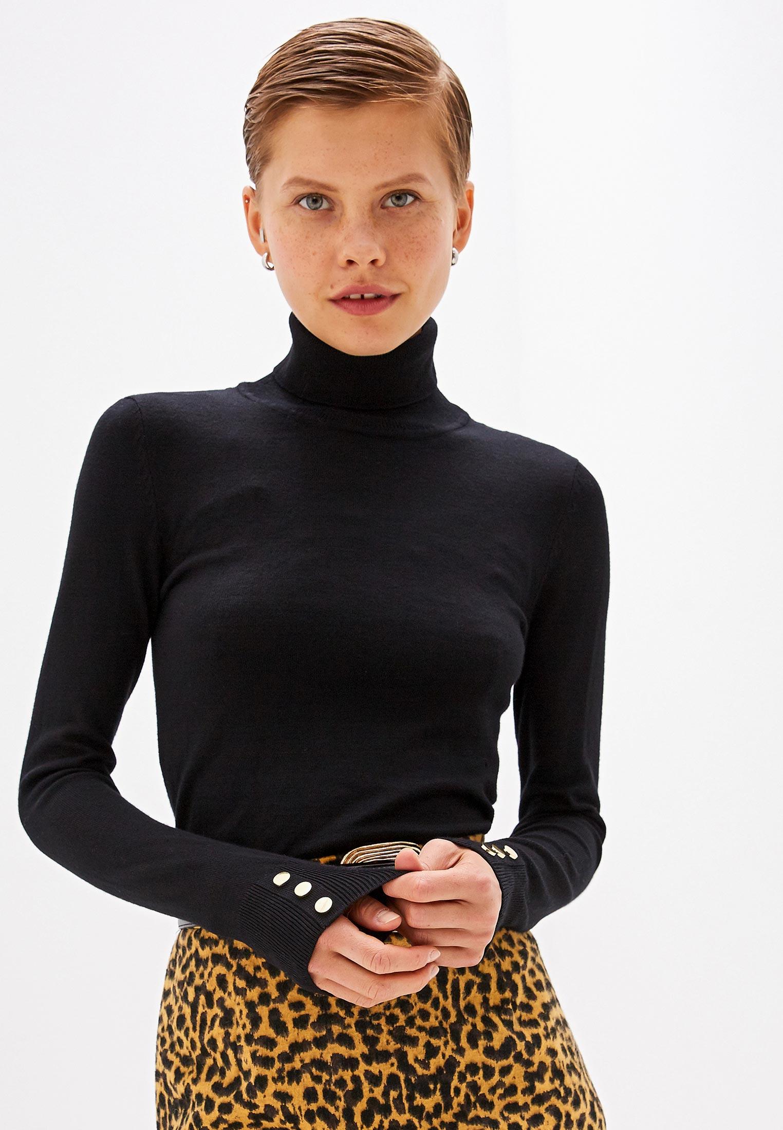 Водолазка, Sela, цвет: черный. Артикул: SE001EWGALE4. Одежда / Джемперы, свитеры и кардиганы