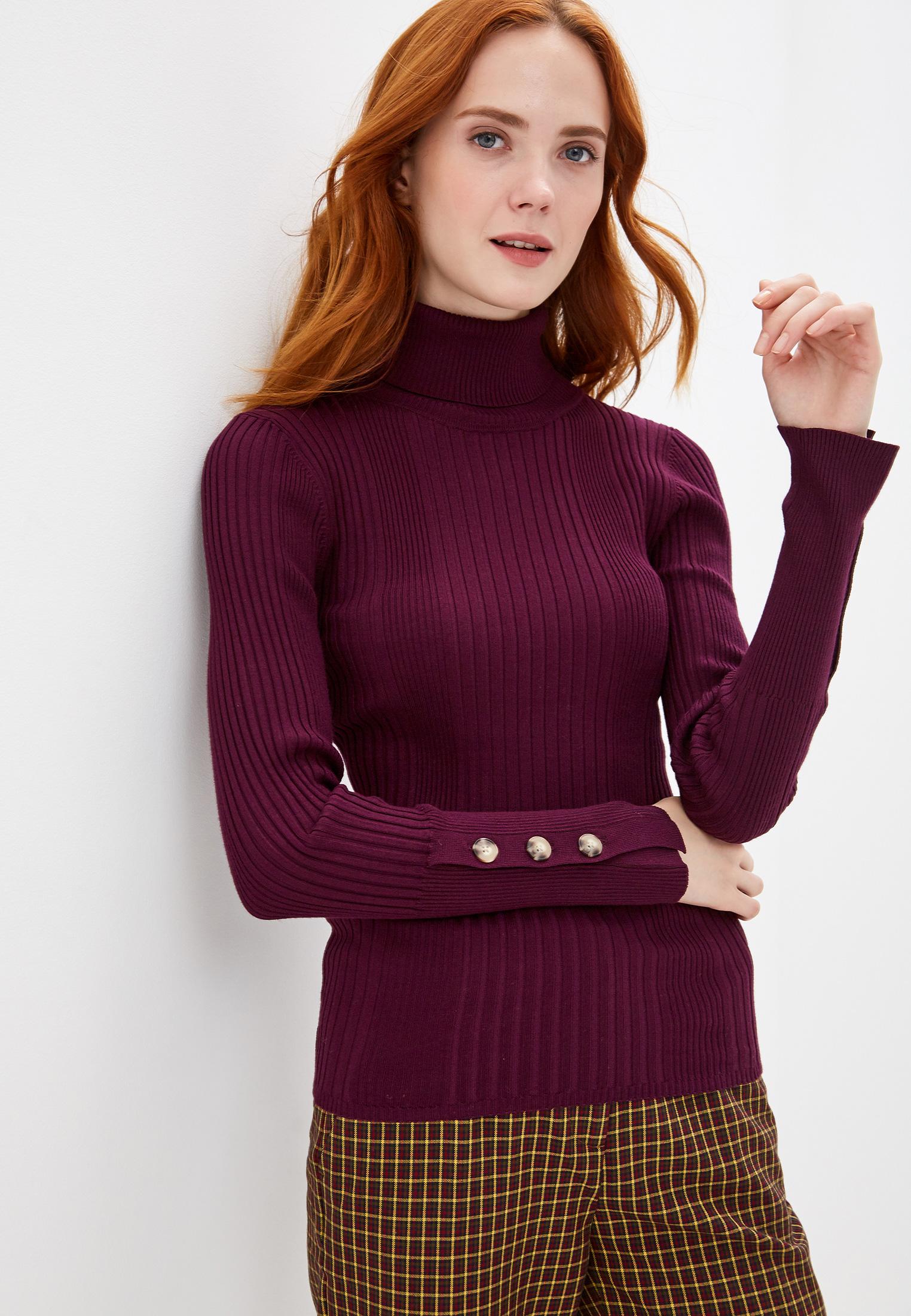 Водолазка, Sela, цвет: фиолетовый. Артикул: SE001EWGALI6. Одежда / Джемперы, свитеры и кардиганы