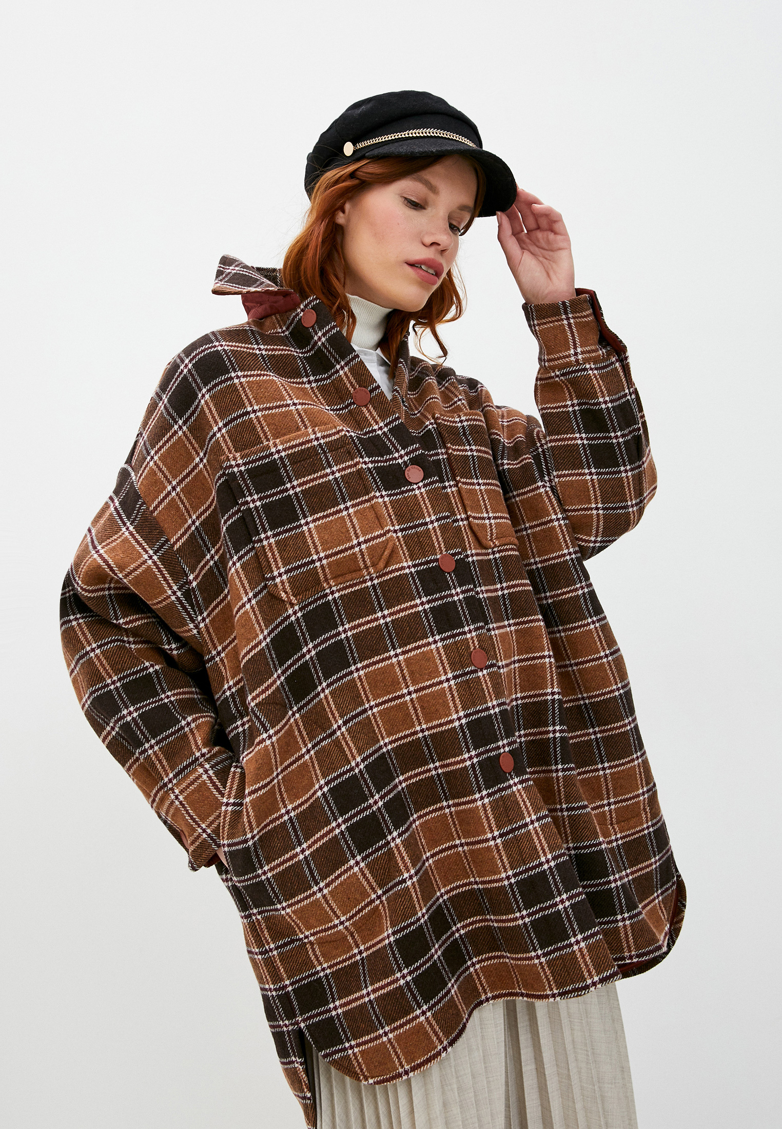 Пальто See by Chloe за 65 970 ₽. в интернет-магазине Lamoda.ru