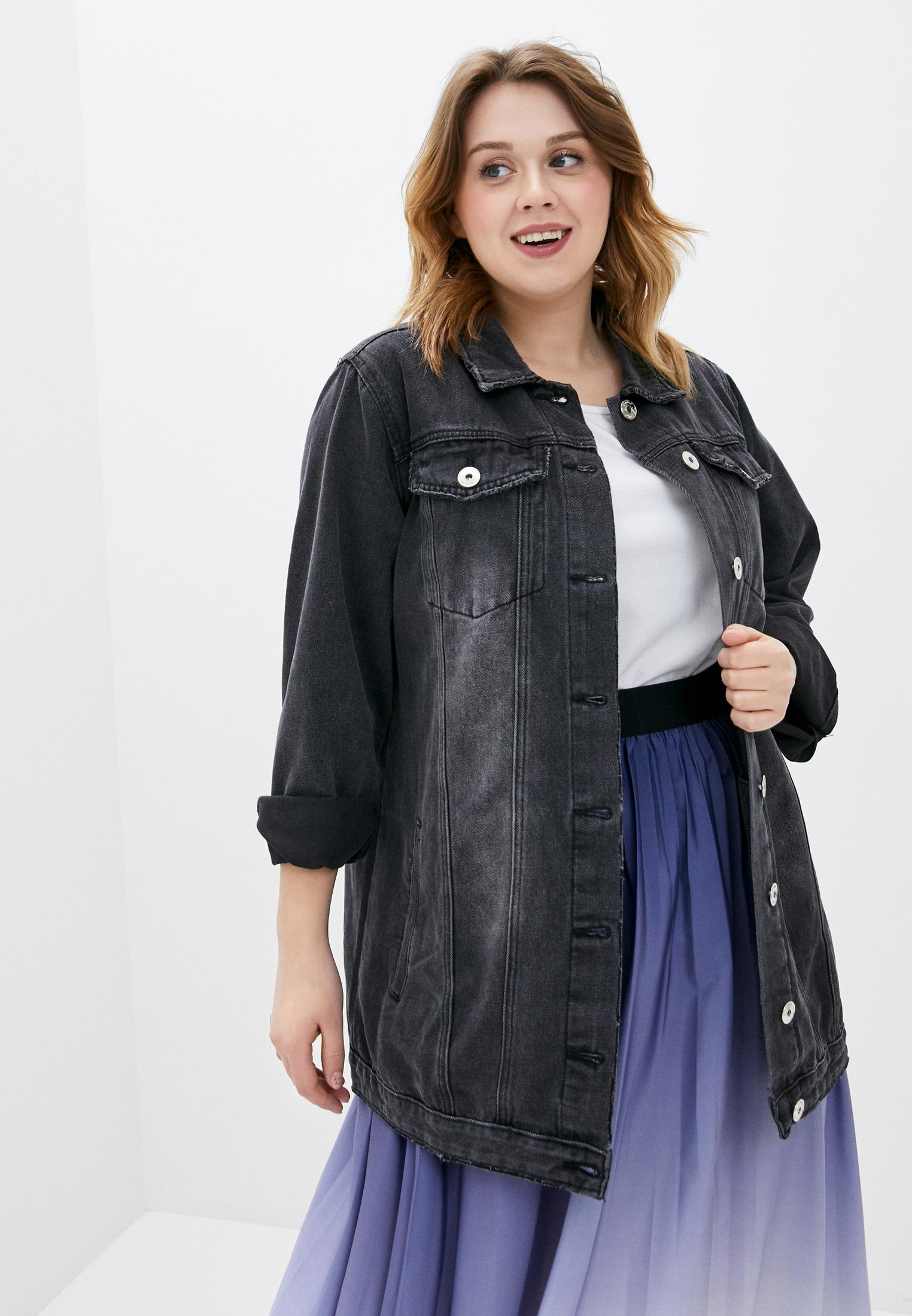 цветущая джинсовый френч для полных фото проблем