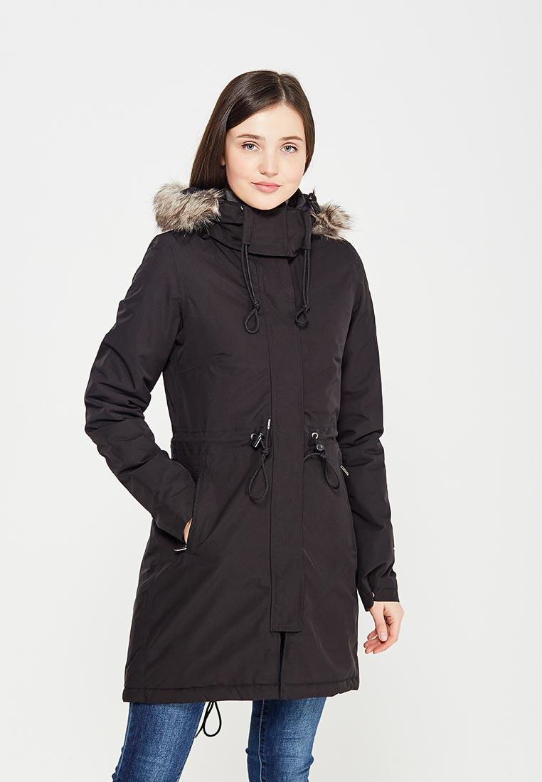Парка, The North Face, цвет: черный. Артикул: TH016EWVYK35. Одежда / Верхняя одежда / Парки