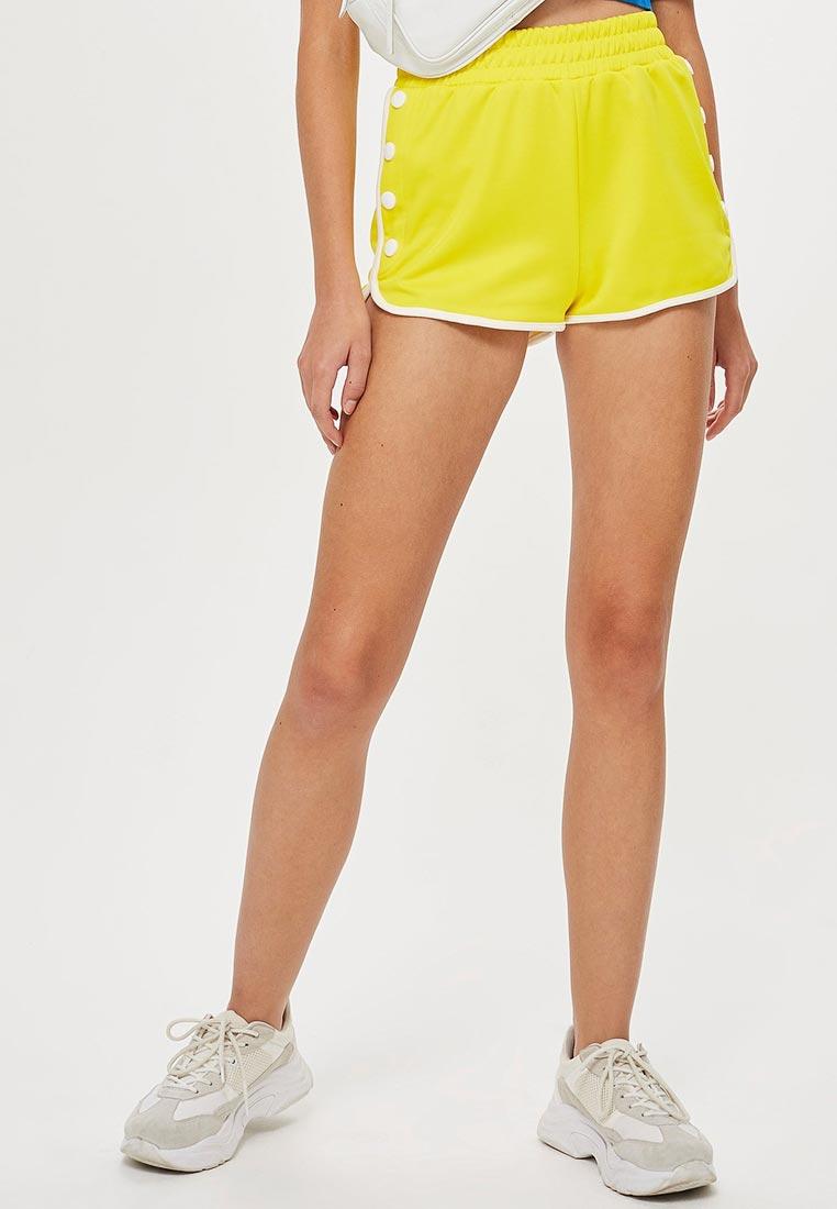 Желтые шорты женские фото