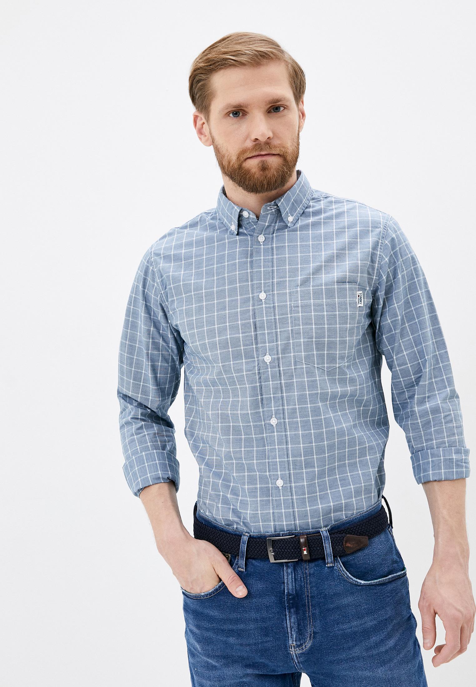 Рубашка Tommy Jeans за 4 860 ₽. в интернет-магазине Lamoda.ru