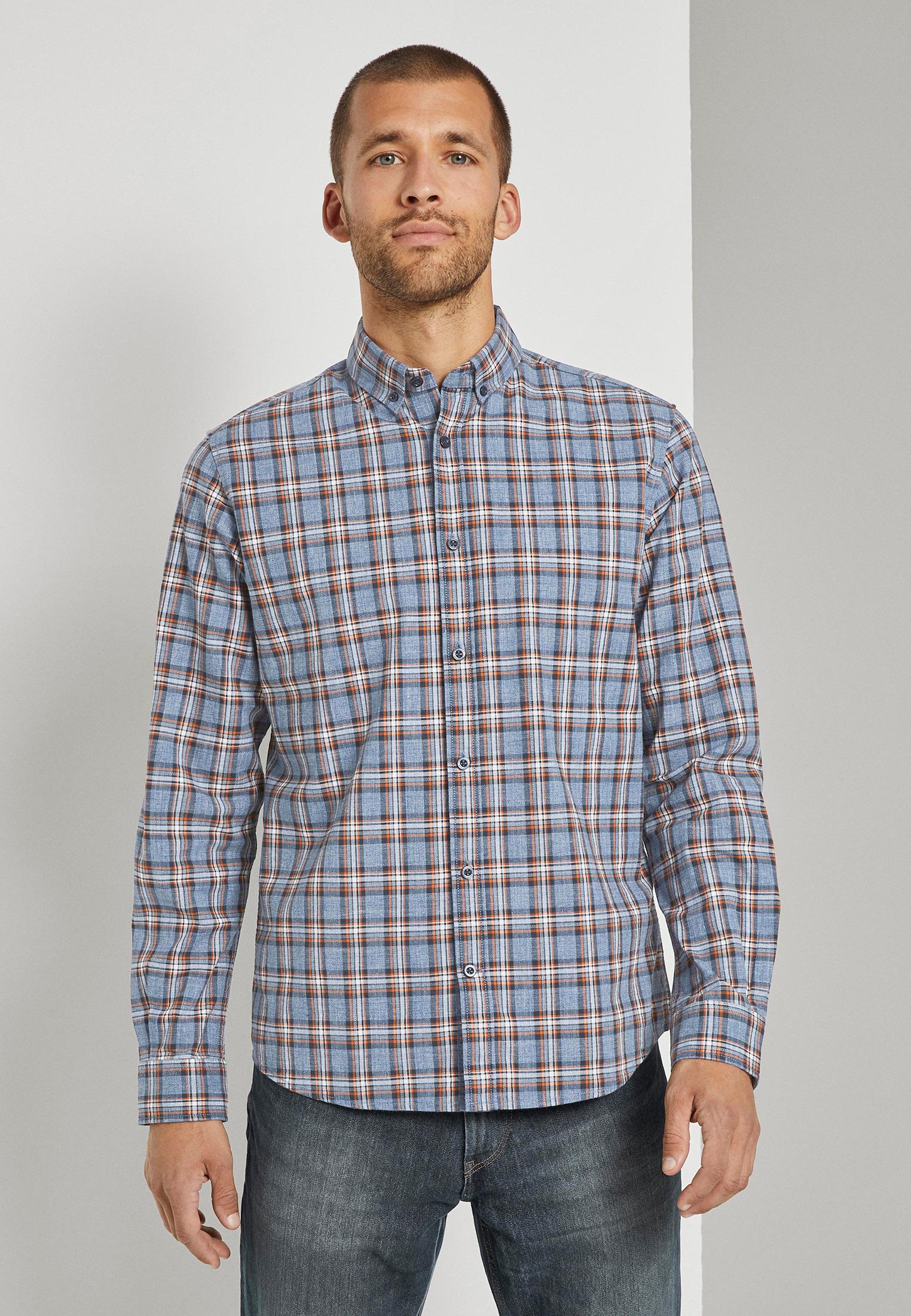 Рубашка Tom Tailor за 4 499 ₽. в интернет-магазине Lamoda.ru
