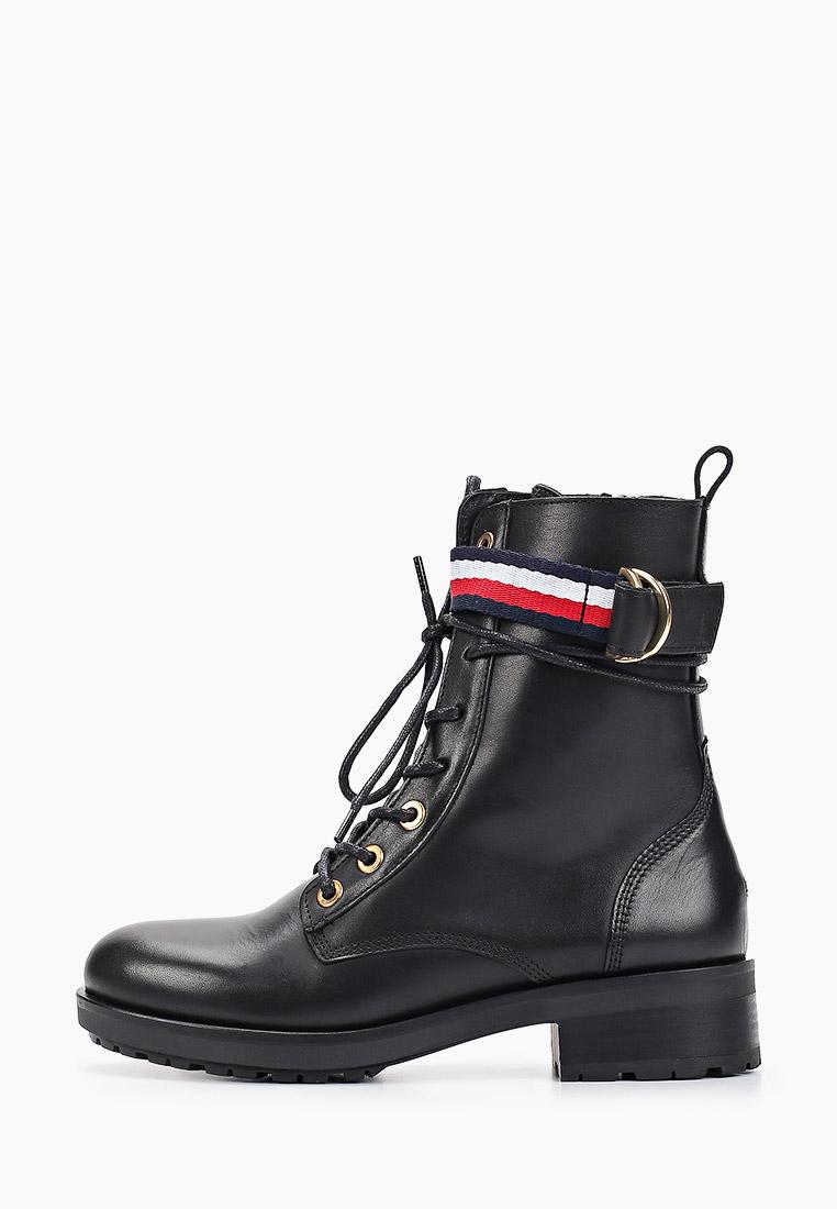 Ботинки Tommy Hilfiger купить за 7 046 ₽ в интернет-магазине Lamoda.ru