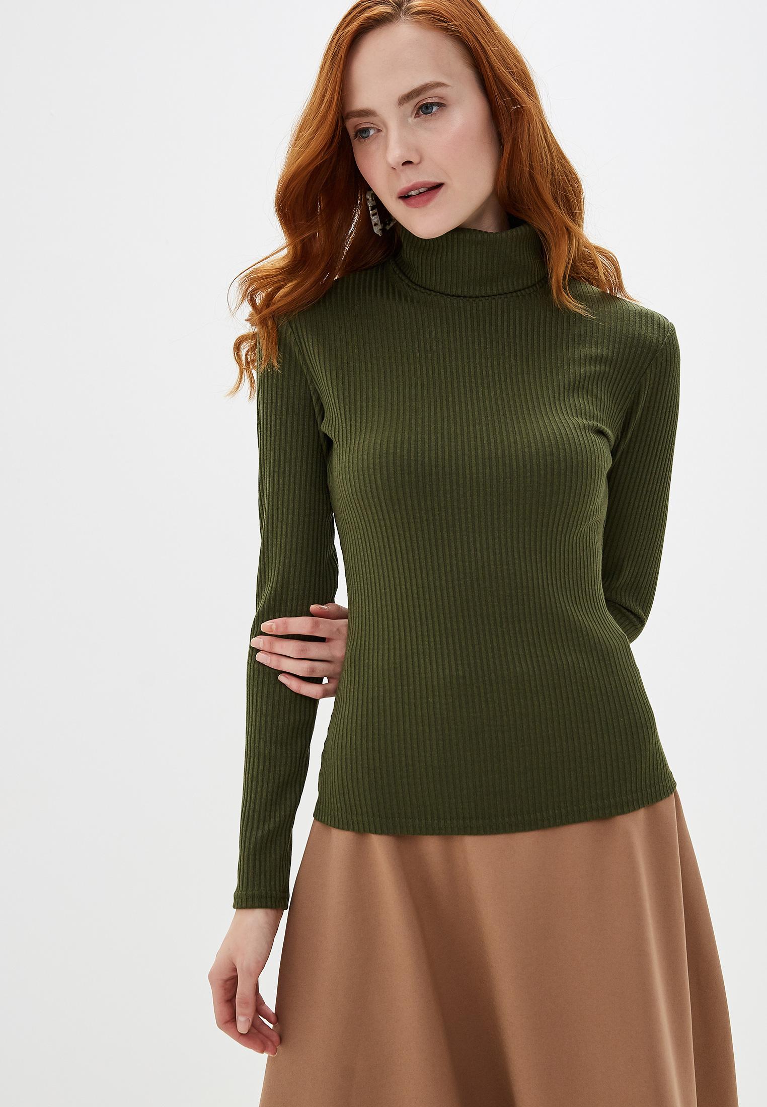 Водолазка, TrendyAngel, цвет: хаки. Артикул: TR015EWGNIO3. Одежда / Джемперы, свитеры и кардиганы