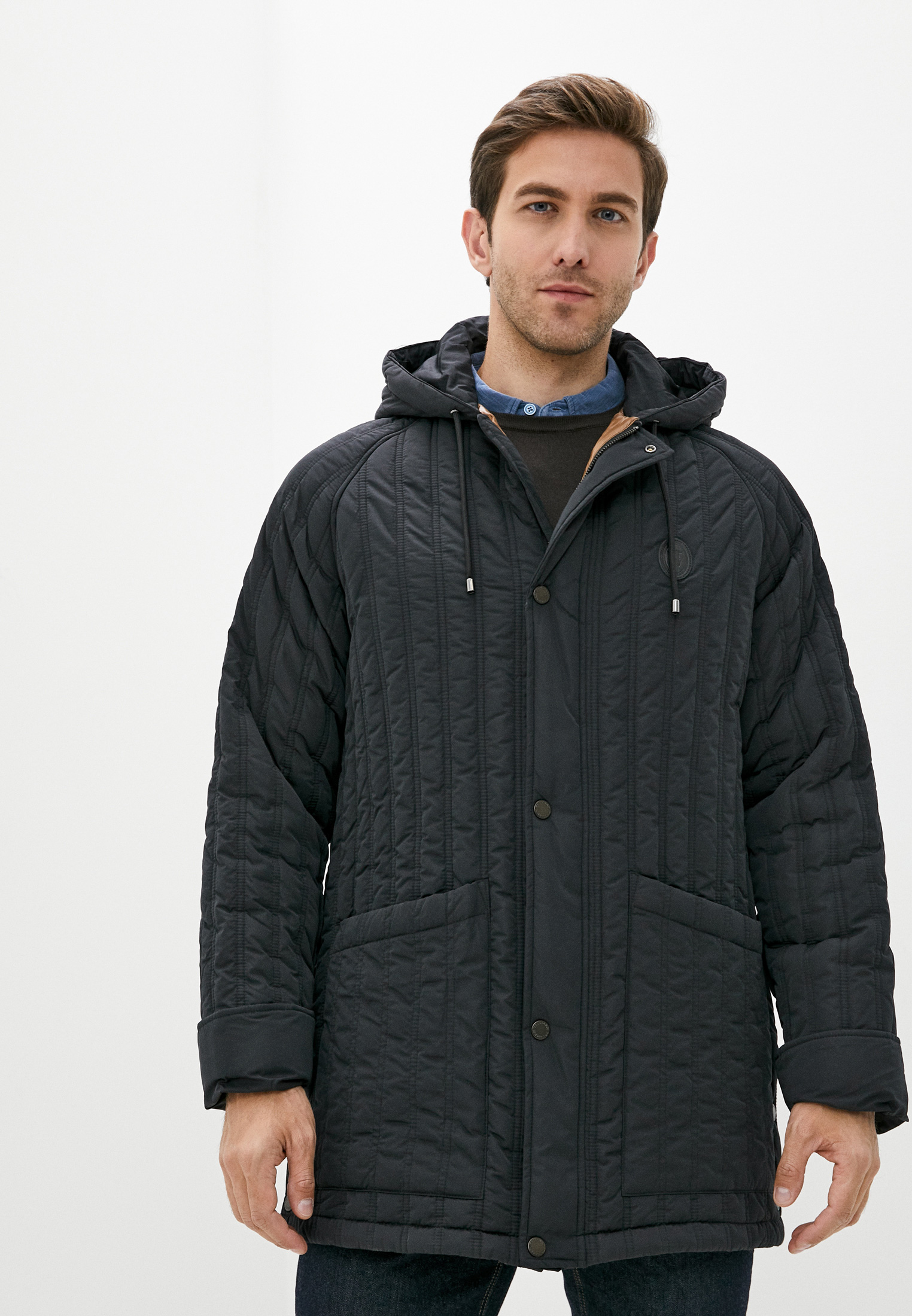 Куртка утепленная Trussardi Jeans за 21 210 ₽. в интернет-магазине Lamoda.ru
