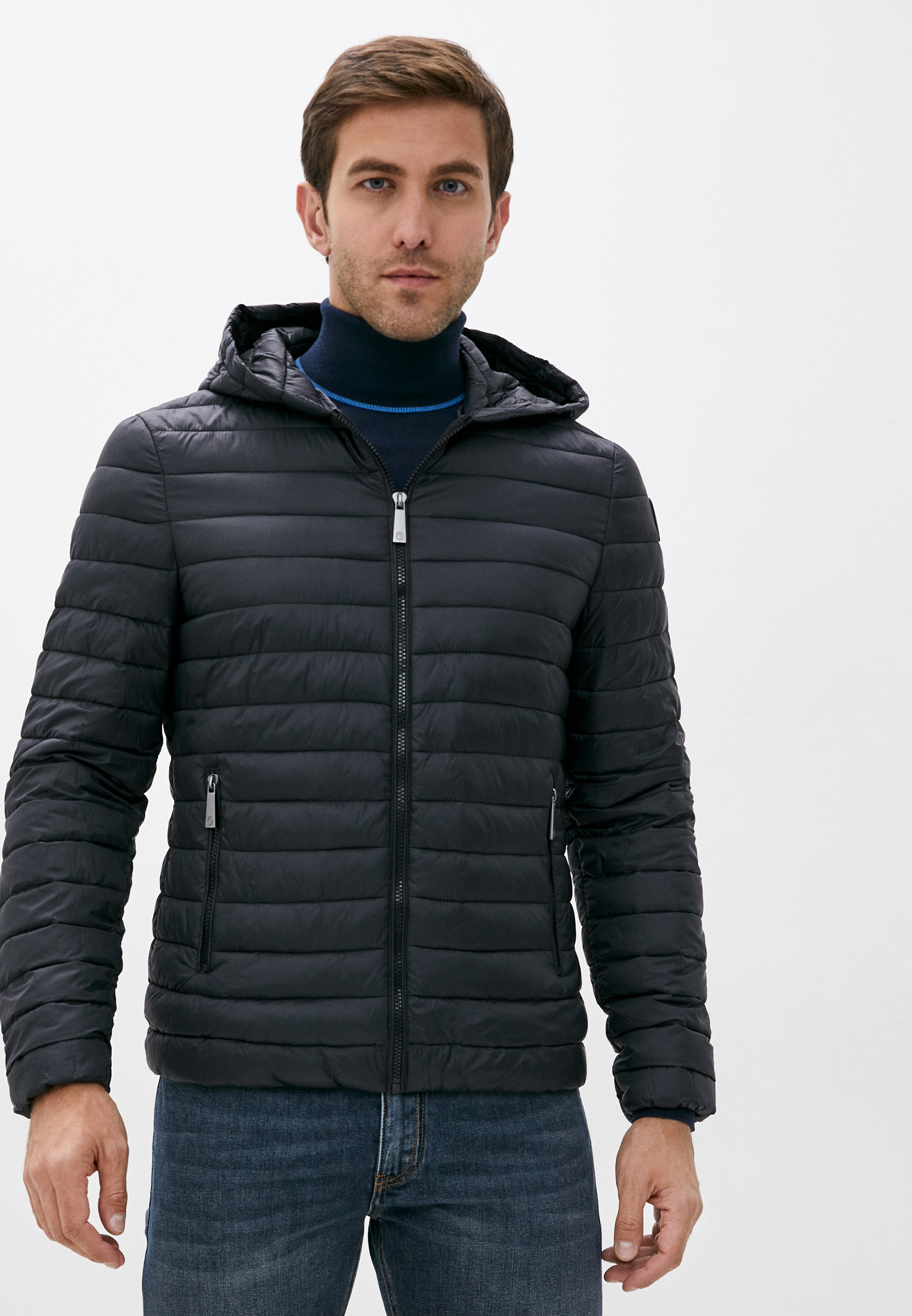 Куртка утепленная Trussardi Jeans за 19 200 ₽. в интернет-магазине Lamoda.ru