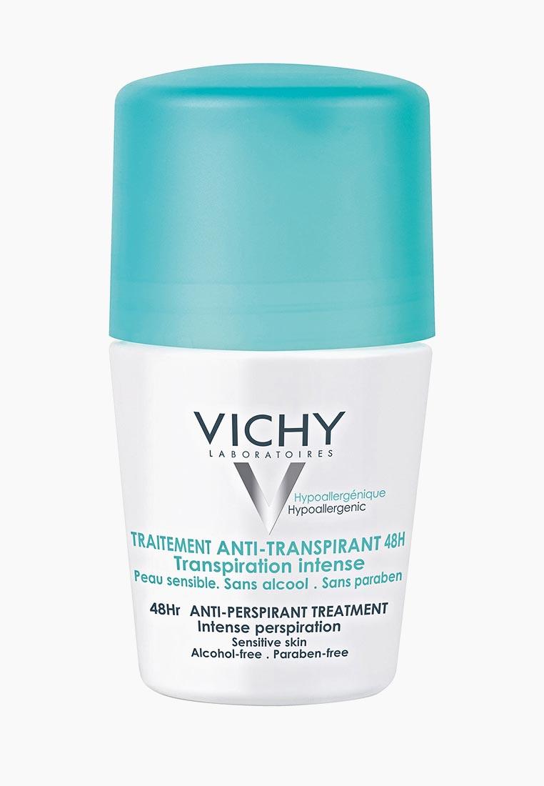 Дезодорант Vichy шариковый. Регулирующий избыточное потоотделение, 50 мл за 1 000 ₽. в интернет-магазине Lamoda.ru