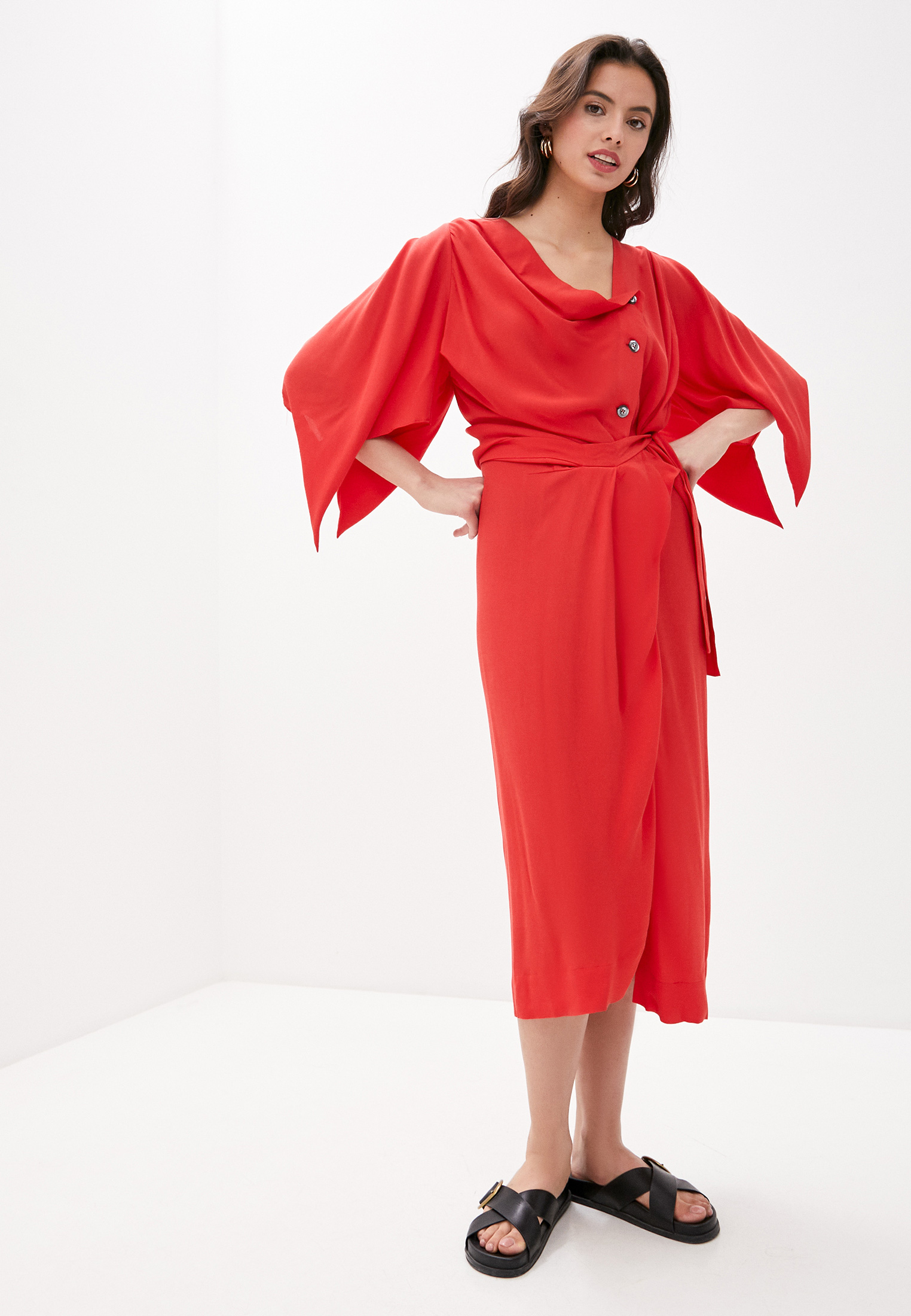 Платье Vivienne Westwood за 35 112 ₽. в интернет-магазине Lamoda.ru