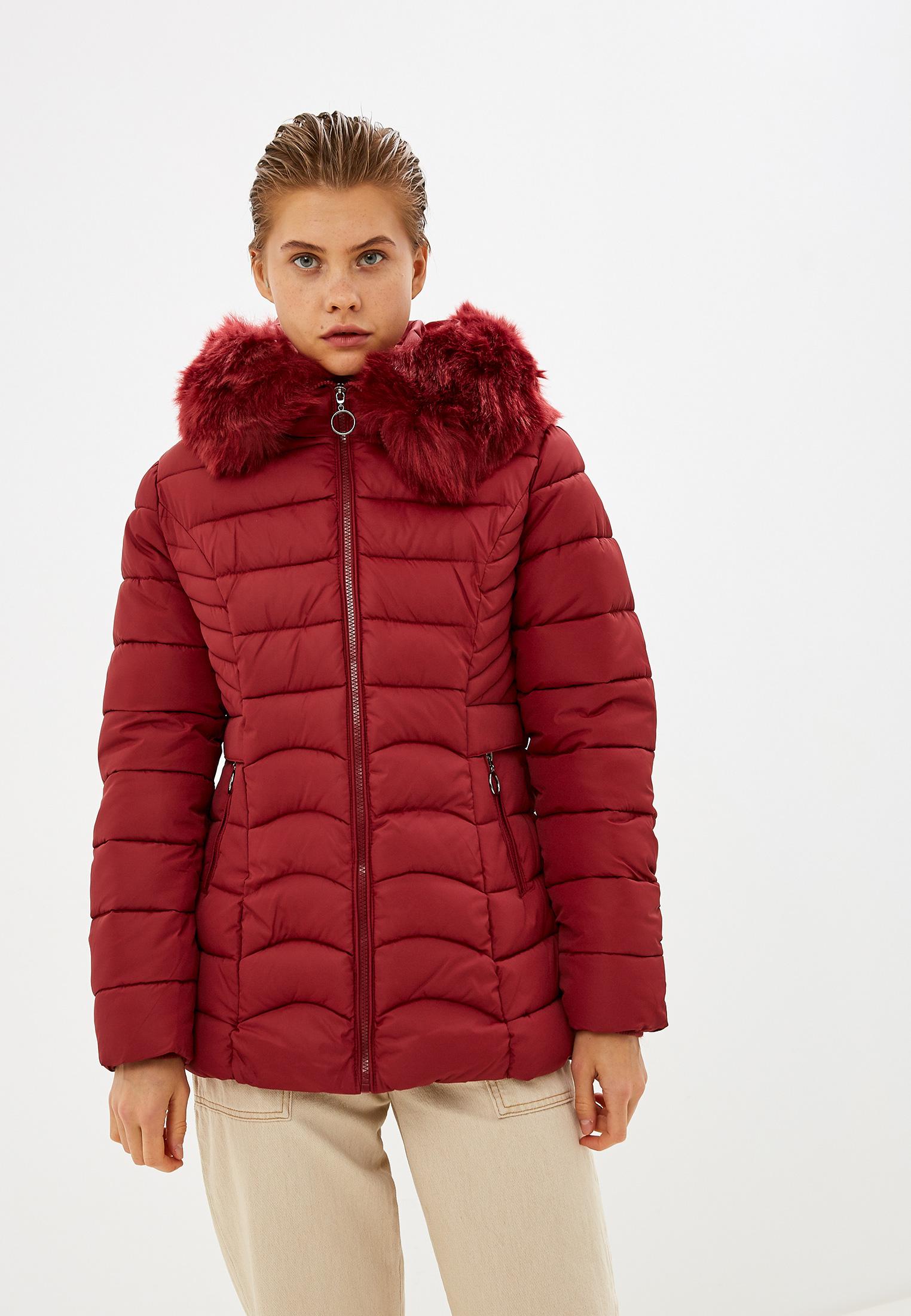 Куртка утепленная, Z-Design, цвет: бордовый. Артикул: ZD002EWHEOC4. Одежда / Верхняя одежда