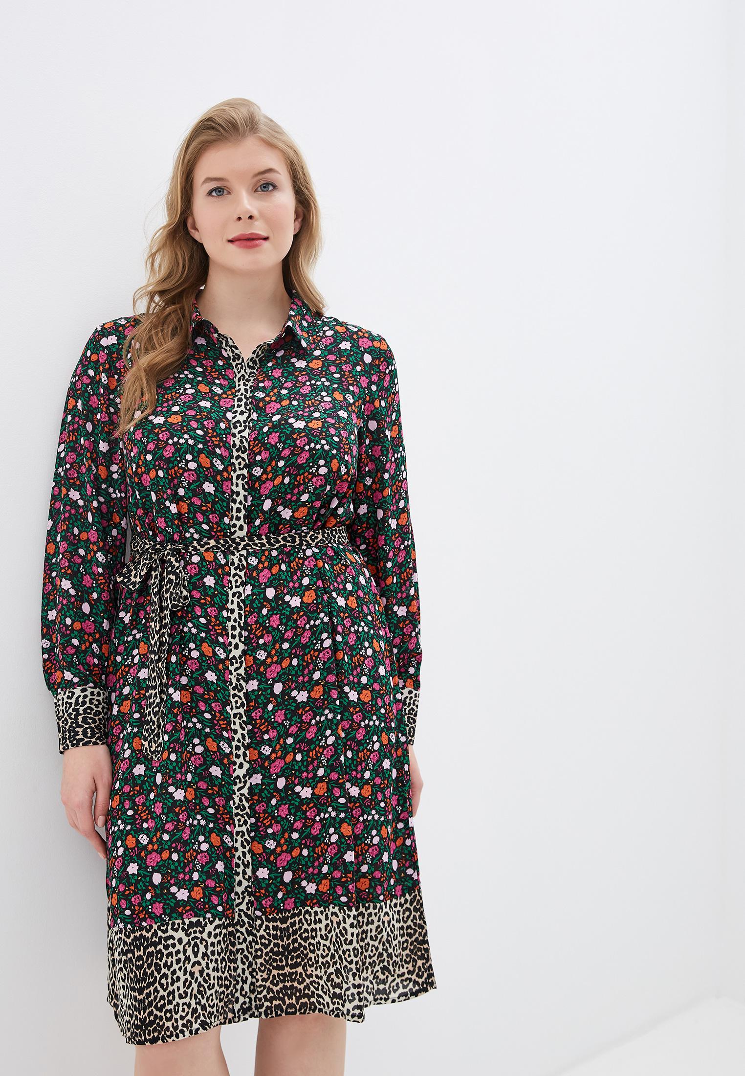 Платье Zizzi за 1 790 ₽. в интернет-магазине Lamoda.ru